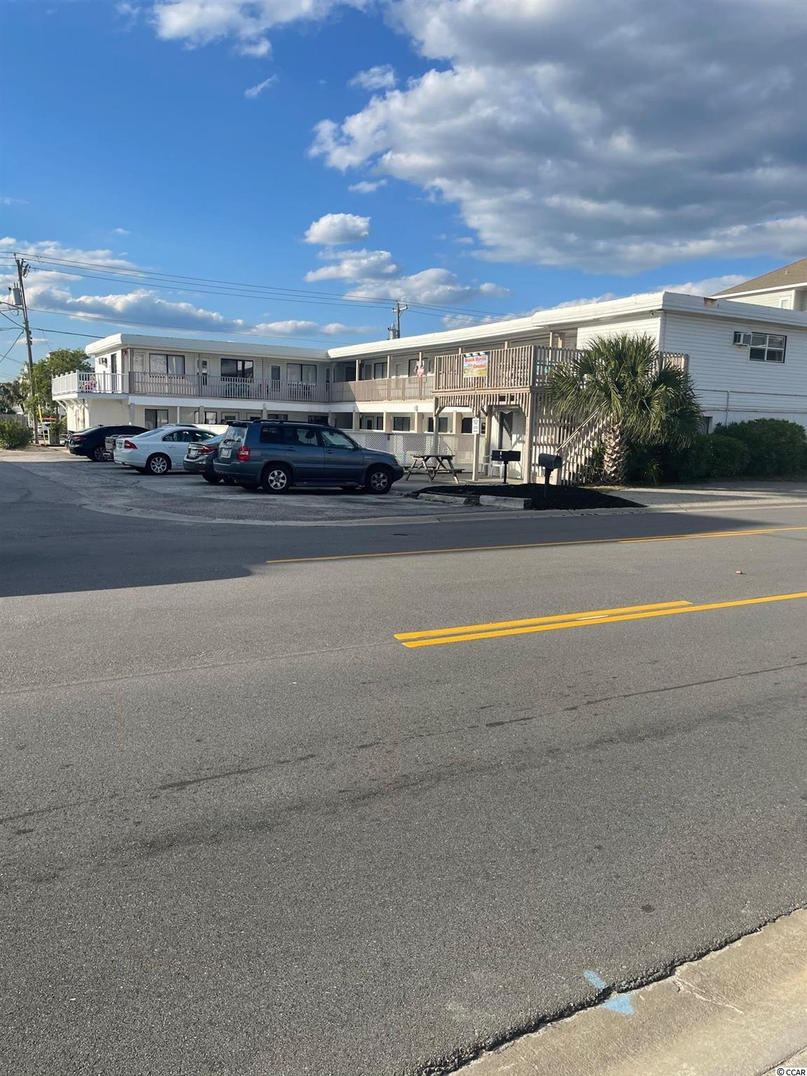 First Floor 1 Bedroom Condo Located in sought after Cherry Grove. Fully Furnished   on Site Pool   HOA Fees include most Utilities Across the street from Public access for the Beach