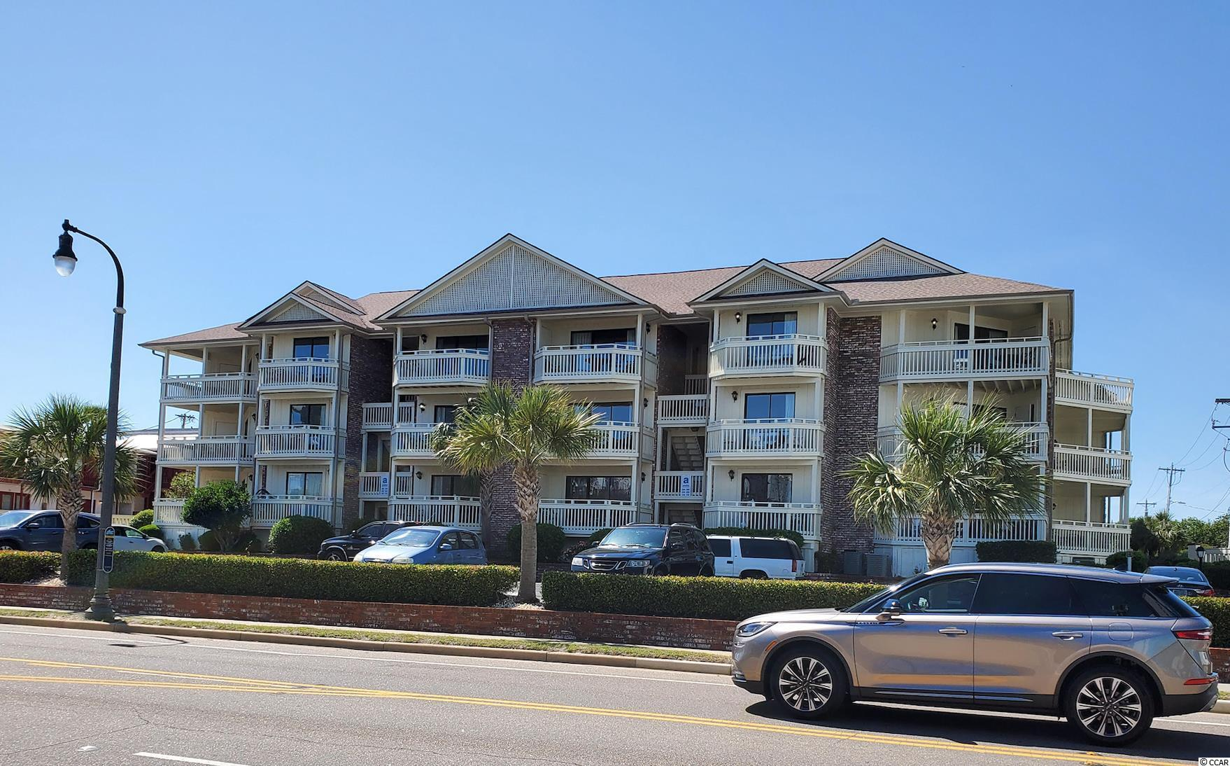 Beautiful, fully renovated ocean view condo in the north end of Myrtle Beach!  White cabinets, stainless appliances, granite countertops, tile backsplash kitchen. Furniture style vanities in bathrooms.  New kitchen and bathroom cabinets, new countertops, and new flooring throughout were installed spring 2020. New HVAC installed December 2020. Perfect for your own beautiful primary residence, a 2nd home, or excellent rental income.