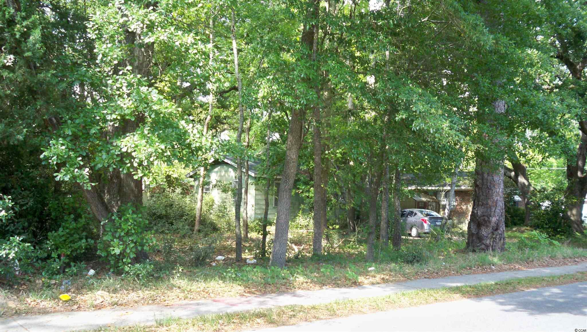 Great opportunity for anyone familiar with the beautiful Historic Big Oak Town, of Conway, Horry County's seat. A perfect lot  for hew home development. On left side just beyond corner of 9th Ave and HWY 379. Seller Very Motivated