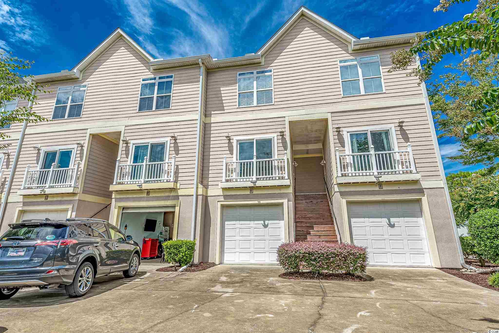 Located in The Avenues, one of Myrtle Beach's most desirable residential areas, is Pineapple Bay: a small community of townhome-style condos just two blocks to the beach! Featuring 3-bedrooms, 3 full bathrooms, and a private two-car drive-through garage, this unit makes the perfect primary residence or second home. Once through the front door, you enter the open concept living room with crown molding throughout and Juliet balconies, allowing you to take in the ocean breeze. Just off the living room is the kitchen, with granite countertops, matching appliances, and a brand new kitchen sink (installed in 2020). Also on this level is one of the guest bedrooms and full bathroom. Upstairs is where you'll find the master bedroom and ensuite, as well as another guest bedroom with a full bathroom, and the laundry. All of the bedrooms have ceilings fans. The current owner made many updates to the property in 2020, including patching all of the drywall and painting throughout, new carpet in all of the bedrooms, new blinds throughout, and ARMAFLEX insulation. Needless to say it's been immaculately maintained and the current owner has only used it as a primary residence. Not to mention, the HVAC was replaced just three years ago! You'll be hard pressed to find a better location, layout, and square footage with a private garage and low HOA dues. Don't let this one pass you by!