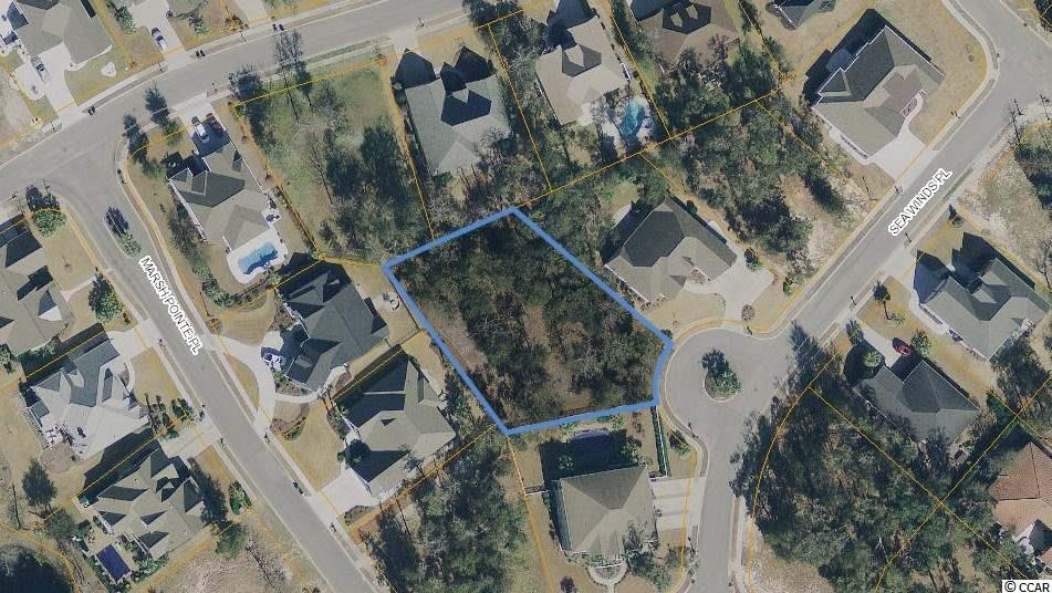 Beautiful estate-sized building lot in North Myrtle Beach's prestigious community, SURF ESTATES! Mature trees exist on this property that can be incorporated into the landscaping for your future custom home. This home site can accommodate a larger ranch-style or 2-story custom home and is not located within a special flood zone. Lots of design possibilities with this oversized building footprint. Public water/sewer and Natural Gas are available for this property. Several new custom homes are under construction in Surf Estates. Walk, bike, or ride a golf cart to the beach (less than 1 mile from the ocean). Short distance to Coastal North Shopping Center (Publix), North Myrtle Beach's newest shopping facility. Owner can provide a set of home construction drawings and a boundary survey for the Property.