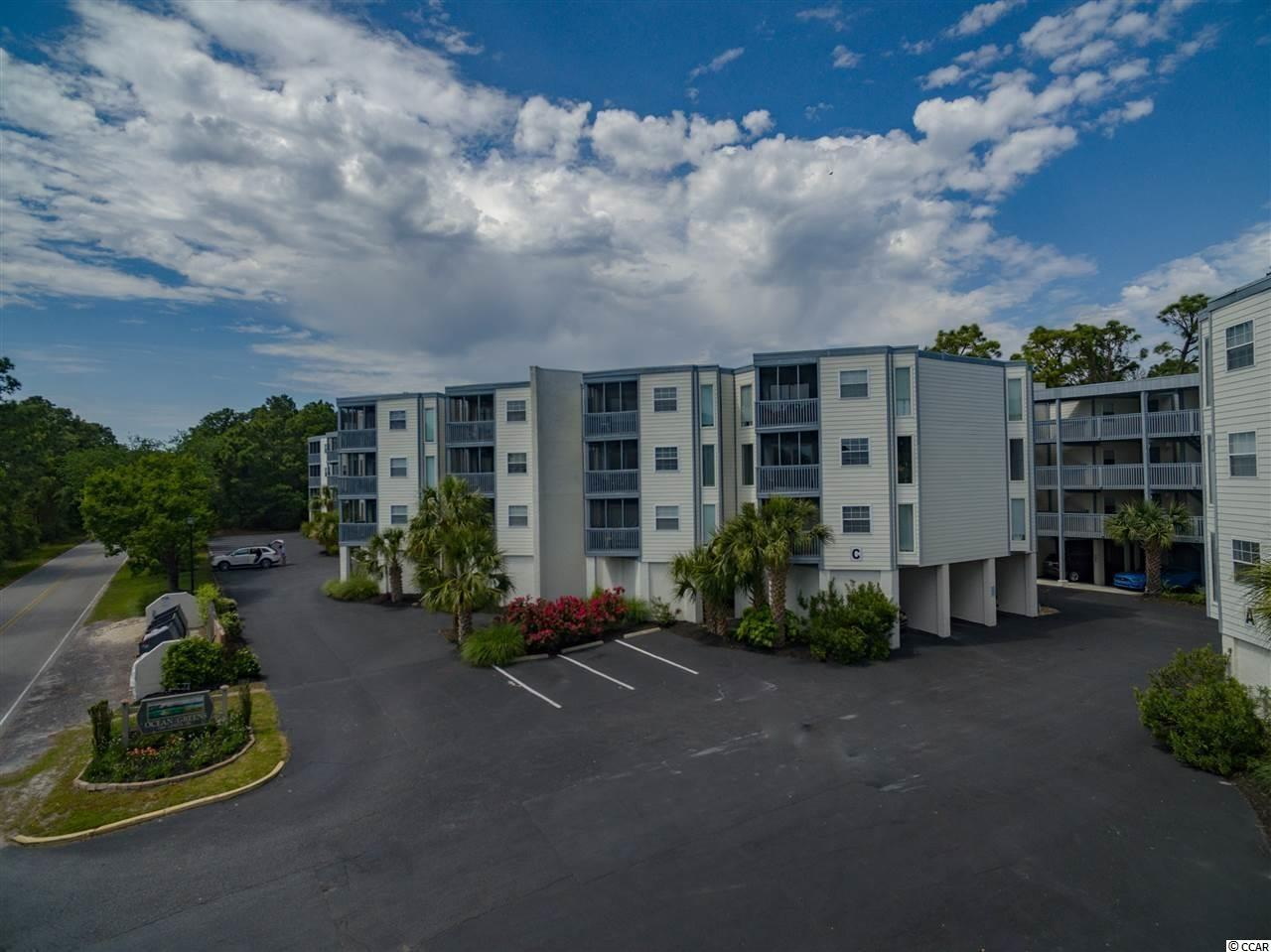 Beautiful and updated third floor 2 bedroom, 2 bathroom condo with open concept. New Flooring, new furniture, and sold furnished with all appliances. NO ELEVATORS in this building. Great location in the heart of North Myrtle Beach, just a quick ride to the beach! Centrally located near Barefoot Landing, North Myrtle Beach Parks, Beaches, Restaurants, Golfing and more! Short Term and Long Term Rentals allowed in this complex! There is a washer/dryer facility area on site, but not within this condo. All Measurements are approximate and must be verified by buyer or buyer's agent.