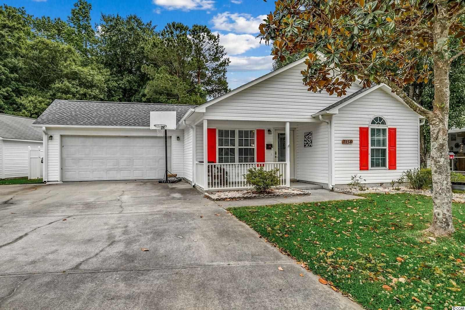Brand New Roof 2021 , Brand New Master Bath ,Completely replaced HVAC system in  2018, & Hot Water Heater in  2017  !  This well maintained residence boast 4 bedrooms and 2 full baths with laminate  wood floors throughout living area large kitchen with breakfast bar, Carolina Room , 2 Car Garage with large driveway and a large fenced in private backyard!  Just minutes to the Atlantic Ocean, Murrells Inlet Marsh Walk, Publix, Golf Courses etc!