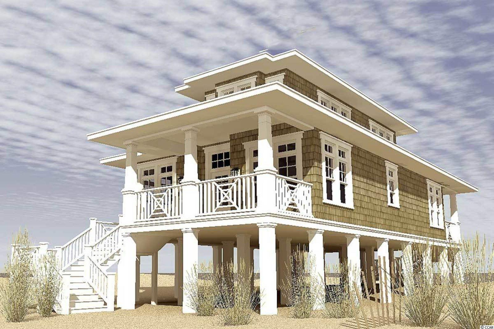 Here is one of the few opportunities left to build on the marsh in the low country of Pawleys Island, South Carolina!  Build this gorgeous custom raised beach home for a personal vacation escape that will feature a balcony with amazing marsh views, and spacious bedrooms and bathrooms!  Please schedule to discuss other possibilities for customizations for this property as this is just one of MANY OPTIONS!  There is no homeowner's association for this lot located in Litchfield Breezes.  There is no timeline to build and this lot sits directly on the marsh.  The options are ENDLESS as to the customizations this build allows you to TAILOR TO YOUR STANDARDS!  As a bonus, you will have a 500-foot dock that you share with only one neighbor which goes out into the marsh.  Enjoy a sunrise, and the scenic views of the low country and wildlife and views of the ocean in the distance.  Minutes to Litchfield beach access, and a quick ten-minute drive to Huntington Beach State Park, you will have many options to explore the beauty of the area.  Schedule to see and discuss the many possibilities building on this lot has to offer!