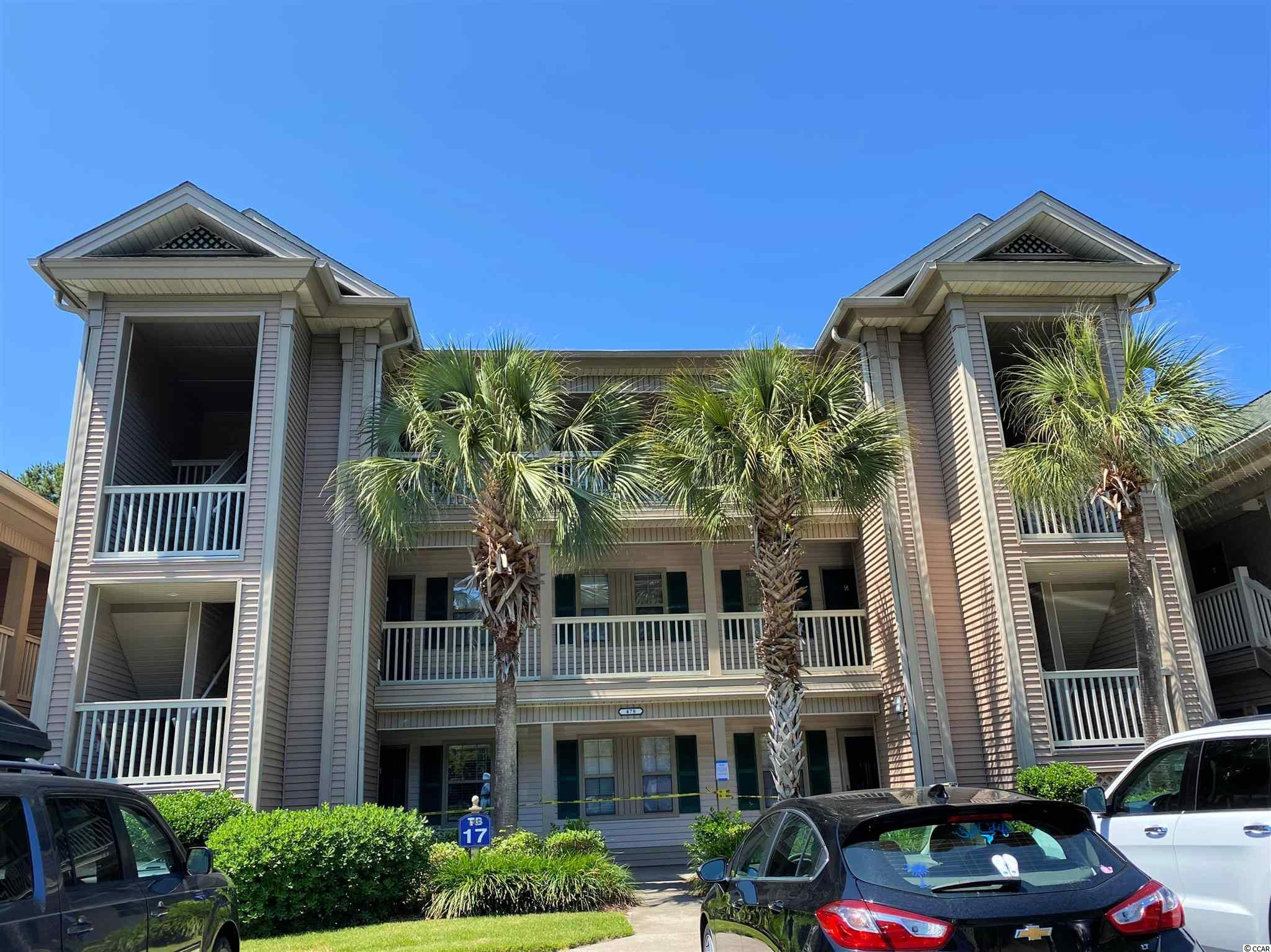 This is the best True Blue condo you'll never see! Perfect for the Pawleys Island investor who wants to rent, the tenent prefers no showings, so it cannot be seen, except by the owner, until the lease is up on 2/28/22. It's on the second floor, with a golf/water view, 2 bedrooms, 2 baths, vinyl tile in kitchen and baths, carpet in living and bedrooms. (Ask about the re-decorating allowance.) Building 17 is located on the most private side of True Blue, almost at the end of Pinehurst Lane, right across the street from the pool!