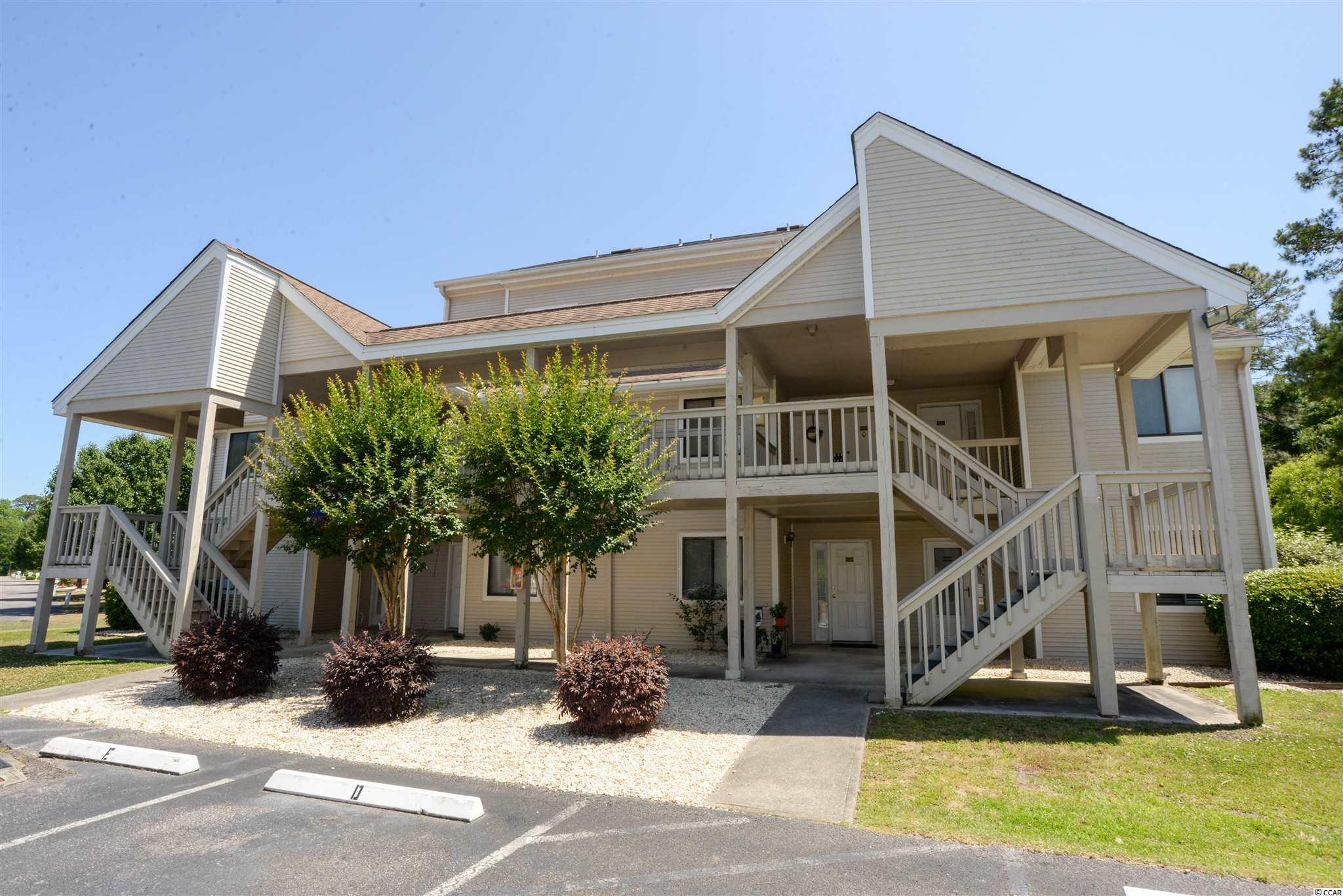 Wow! Open and airy, large 2 bedroom, 2 bathroom, second floor, 2 level, end unit condo at Baytree IX in Little River. Over 1200 heated square feet, gorgeous LVP flooring throughout, large bedrooms, high ceilings, huge kitchen, updated cabinets, kitchen island, stainless steel appliances, nice colors, well cared for, large pantry, extra large loft bedroom with large walk in closet and private bathroom. This building is tucked away and Baytree has lots of well-manicured community space, outdoor pool, indoor pool, and is only a few miles to the beach.
