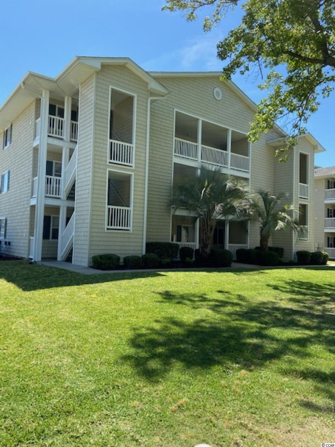 Great Location in North Myrtle Beach.  Nice condo in a Waterway community, one mile from the beachfront, and walking distance to restaurants & social activities. There are five community piers available for boat watching, fishing, or just relaxing and watching the sunset.  There are two pools available and onsite grills.  Robert Edge parkway is right around the corner for easy access to Hwy 31 bypass.  The North Myrtle Beach Sports complex is less than three miles away.