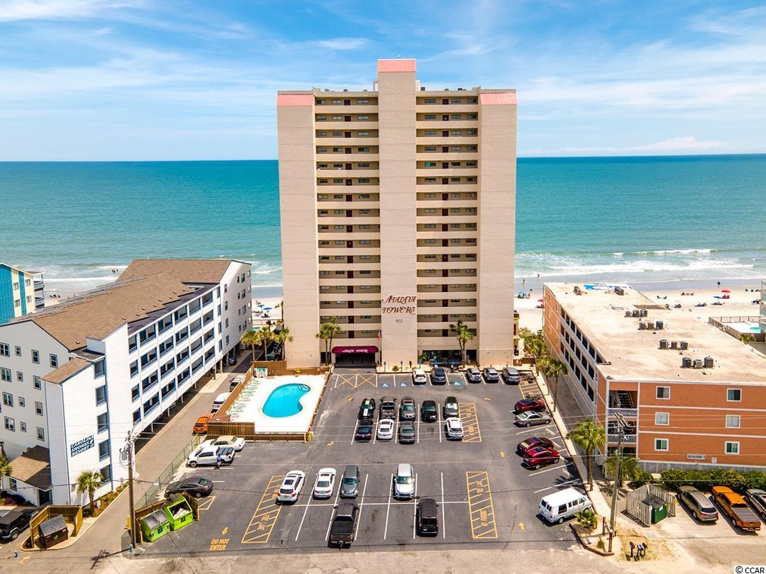 704 Atalaya Towers is a direct oceanfront 3 bedroom, 2 bath unit with approximately 1100 square feet. The Master bedroom equipped with its own private bathroom, has a sliding glass direct access to the balcony and the sparkling Atlantic Ocean.  The large balcony has a wide ocean and beach view with plenty of space to enjoy the gorgeous South Carolina coast.  This condo is selling fully furnished.  Owner currently rents this unit through VRBO with bookings to offset the owner's carrying costs.  Atalaya Towers is a concrete and steel building with 2 elevators, a street side outdoor pool, indoor pool and hot tub, oceanfront sundeck, and at least 2 parking spaces. The parking lot across the street can also be utilized.  Located near Garden City Pier, restaurants, shopping, golf, and Murrells Inlet entertainment.  You will want to make this home yours' on the Grand Strand!