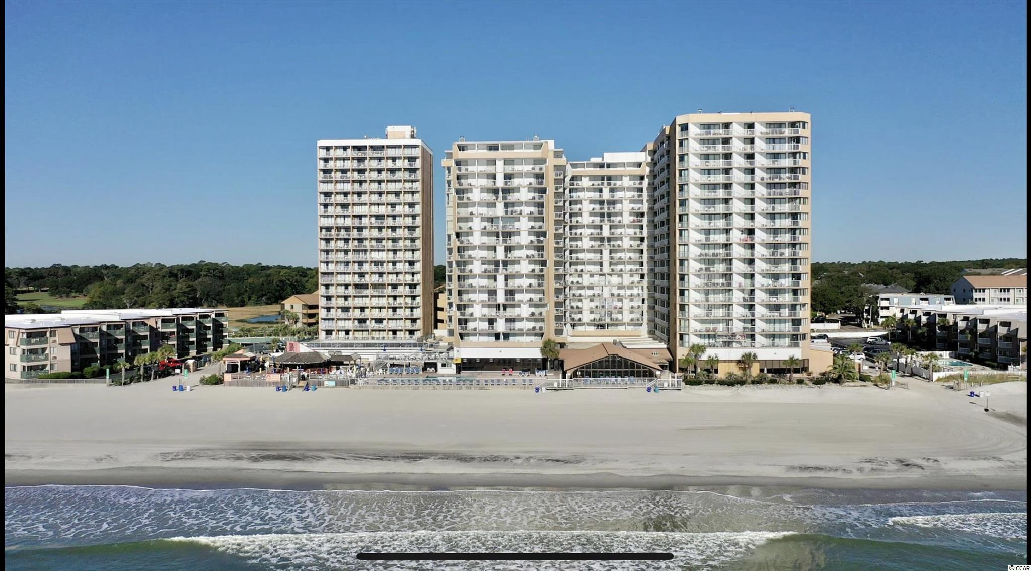 Here is your chance to own Ocean Front at The Sands Ocean Club Resort.  Adjoining room is also for sale.  See unit 808.