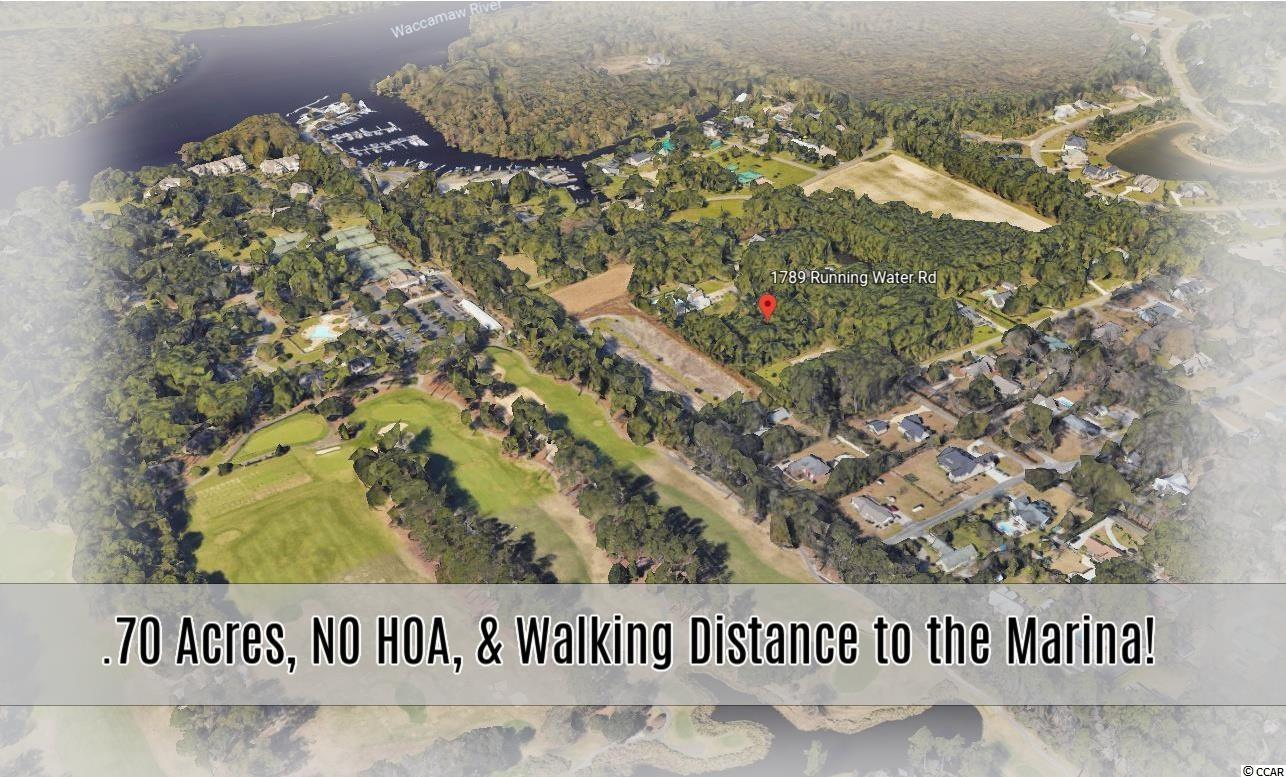 A .70 acre lot with NO HOA walking distance to the marina in this market ? WOW!!! For years it has been tough to find these rare opportunities in the Murrells Inlet area, but in this market, it's nearly impossible!!! Not only is this locatedin a sought after NO HOA community close to the marina, this particularlot is near the very back of the community adding additional privacy as one of the many attributes this lot offers! This lot is THE ideal location in Murrells Inlet! Close to water, golf, shopping, and Marshwalk. And the NO HOA factor adds HUGE value! Bring your boats, RV's, etc! They are all welcome! Drone shots coming soon.