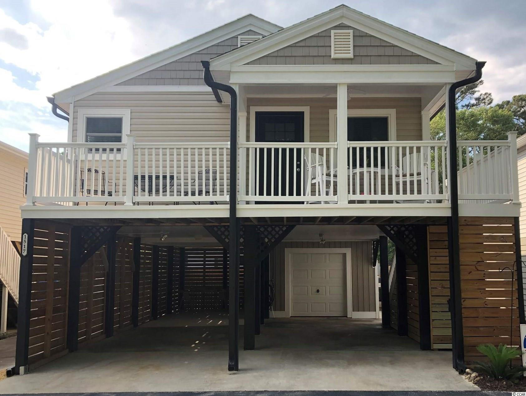 Beautiful Carolina Beach Home located east of HYW 17 in Garden City Beach. Completely updated. Easy walk or Golf Cart ride to the Beach. new HVAC 2020, deck & steps & added trek flooring with vinyl railing, new Garage door (2020) just a few of the updates. Laminate flooring in kitchen, living room and hallway. Granite countertops in Kitchen and much more! Furniture negotiable.