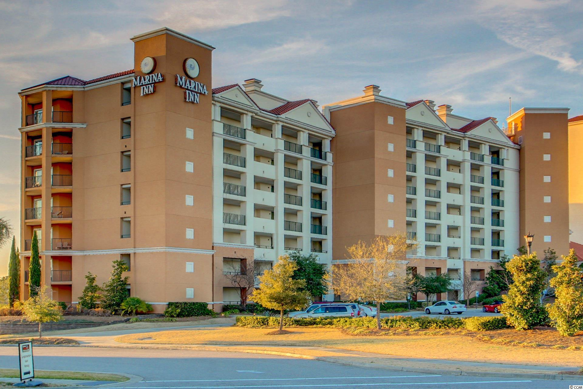 Marina Inn at Grande Dunes Eff/1 BA condo with beautiful waterway views.  Condo is nicely decorated and appointed. A great investment! Property offers indoor/outdoor pools, fitness center and more!