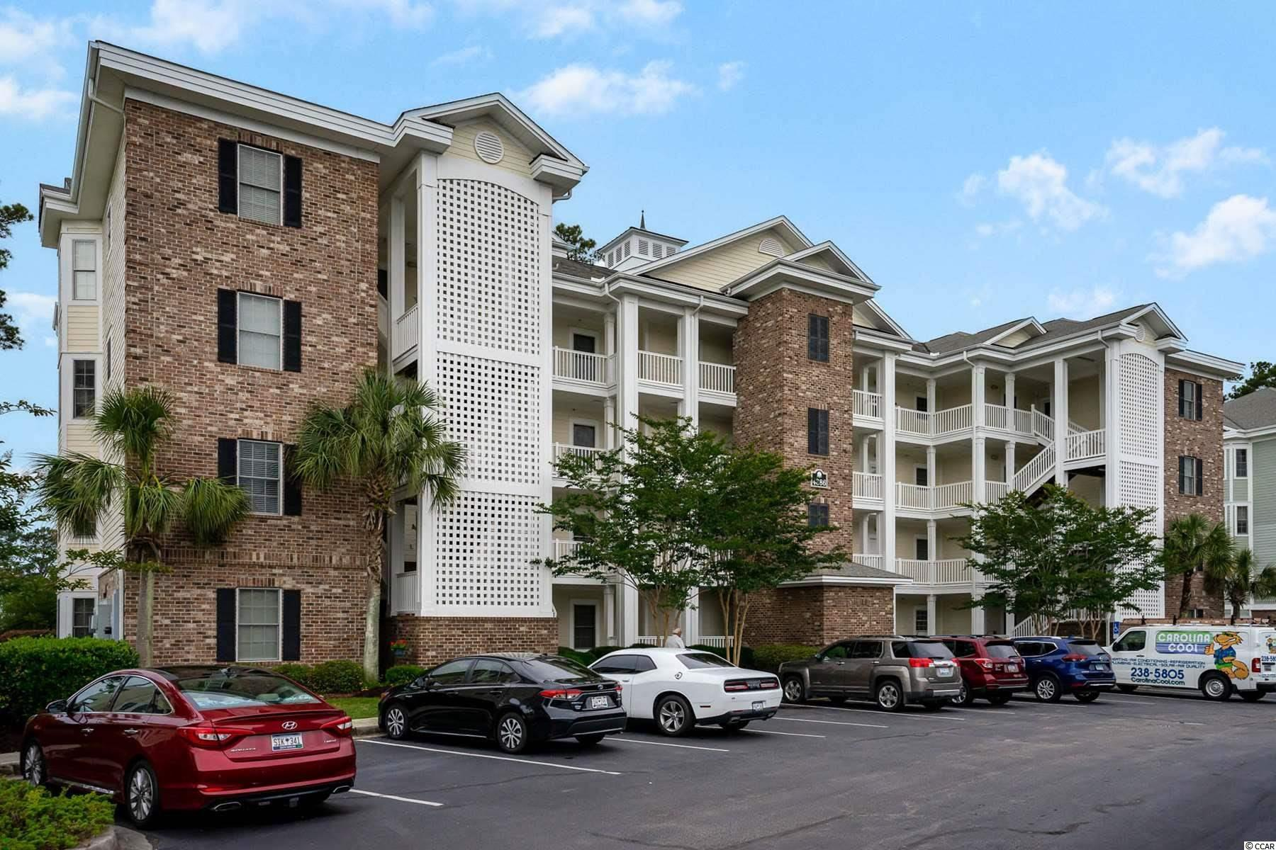 Located in Magnolia Point, this beautiful, fully furnished 3rd floor - 3 bed 2 bath unit offers an open floor plan, great views of the golf course and plenty of room to enjoy get togethers with family and friends. Kitchen is fully equipped to make all meals, and has additional seating at the breakfast far.  Sit outside on your private balcony and enjoy relaxing while drinking your morning coffee or evening drink or enjoy the community pool and picnic areas .  conveniently located to area attractions, shopping, dining & entertainment, the Intracoastal Waterway, the Beach and so much more!  Hurry and schedule your showing today!