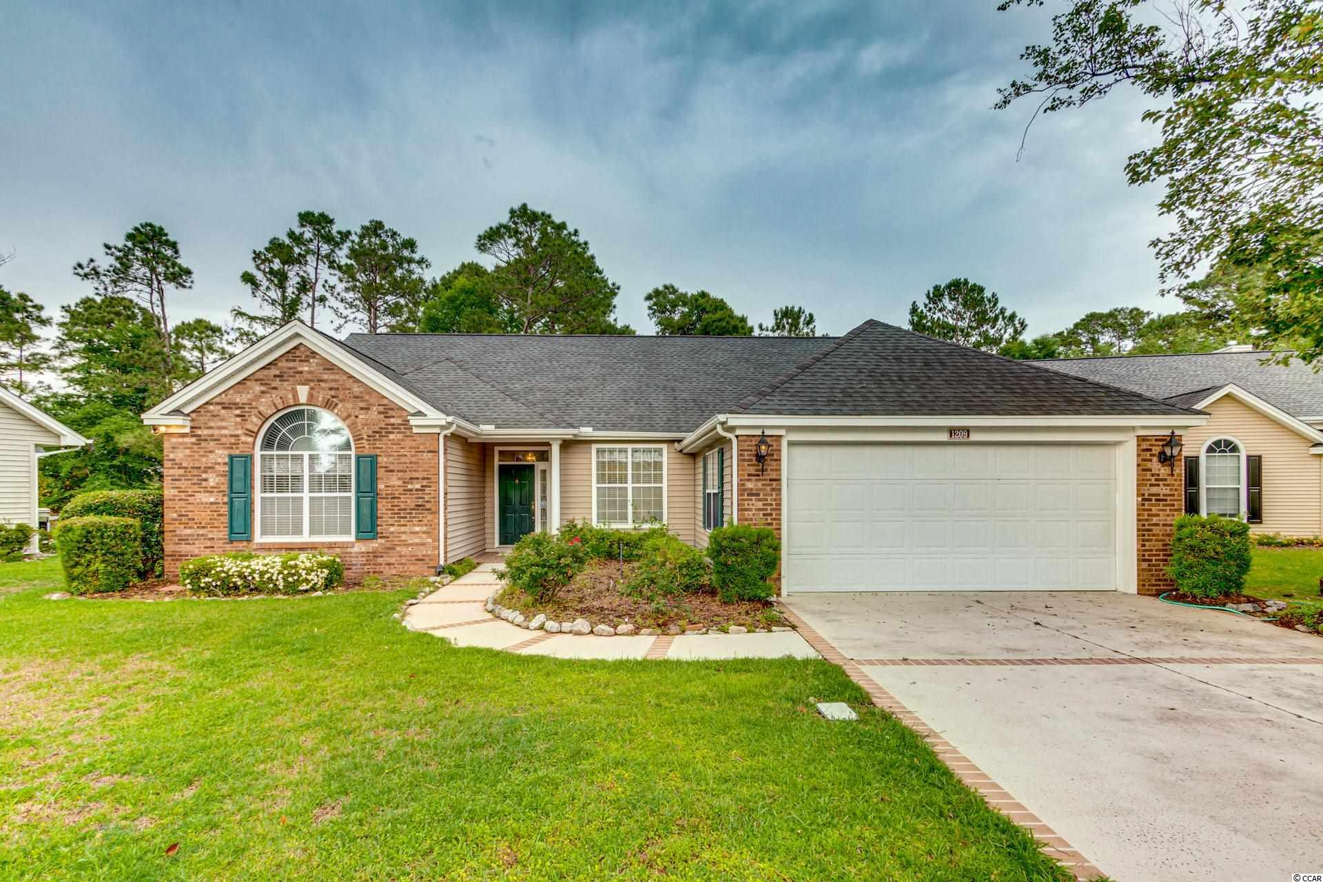 3 BR/2 BA home in 55+ adult community of Myrtle Trace.  Large home with open floor plan, high ceilings, sunroom, and a unique laundry storage room next to the garage. Located on a quiet cul-de-sac street.  Community offers outdoor pool, clubhouse & many activities.  Conway hospital and numerous doctor offices nearby.
