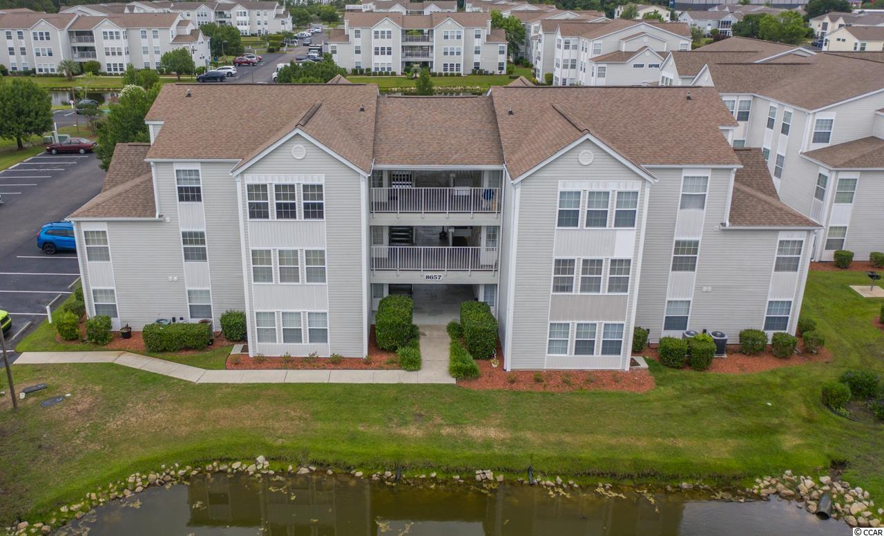 This 1 bedroom 1 bath with a 12 x 8 Carolina room 3rd floor condo is only 2 miles to the beautiful beaches in Surfside. Freshly painted June 2021, vaulted ceiling, open plan with lots of light. Water heater 2020, disposal 2016 and HVAC 2011. Spend the day at the beach then head back to relax at the community pool. Championship golf courses, Murrells Inlet Marsh Walk with amazing seafood restaurants and fabulous views of the inlet, Brookgreen Gardens, two oceanfront state parks, The Market Common with outdoor shopping, restaurants, movies and more just minutes away. Call today to see this condo! Square footage approximate and not guaranteed. Buyer is responsible for verification.