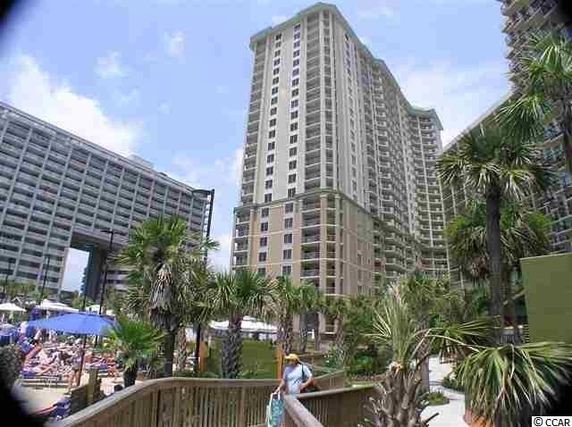 Very desirable three bedroom oceanfront corner lock-out floor plan in the Royale Palms.  This property is one of the larger oceanfront condos in the Royale Palms being on floors 1 thru 7, which includes an extra 130 heated sq. ft.  This makes the living room/dining room, master bedroom and the 2nd bedroom longer and wider.  The balcony is also 90 sq. ft. larger at 340 sq. ft.  This larger design causes the oceanfront window on to the deck to be a double window.  Enjoy spectacular views from this large balcony with access to the master bedroom as well as the main living area.  The third bedroom is set up with the lock-out feature and can be rented separately.  The lock-out has all of the same upgrades of the main condo.  This condo is in excellent condition and would be great as a second home, primary residence or rental property.