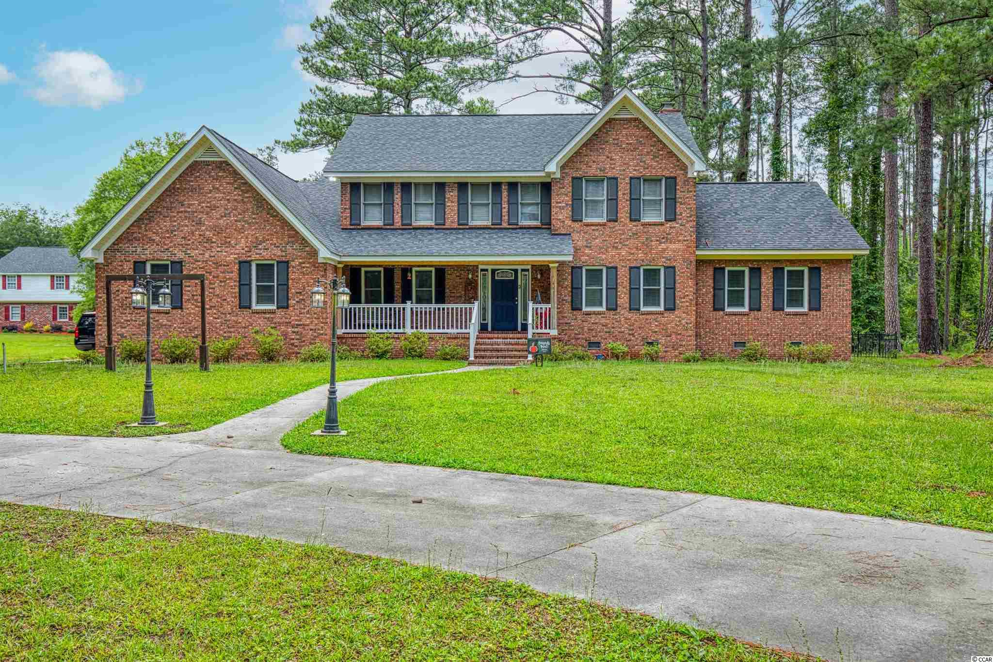 Welcome to this huge, all brick home in the heart of Conway! This property has a circular driveway, side parking, a large fenced in backyard, a bonus room, first-floor master suite and more! Once entering you'll appreciate this custom home and its open floor plan downstairs. Master, full bath and half bath located on the first floor. Upstairs includes other bedrooms and baths. It also has a bonus/play room that can be accessed through an upstairs bedroom! This spacious home is unique and unparalleled in Conway. Featured materials include but not limited to, granite countertops, shiplap, luxury vinyl, beam like ceiling, recessed ceiling lights and all brick exterior! Schedule your showing to see this beautiful home! Buyer to confirm square footage.
