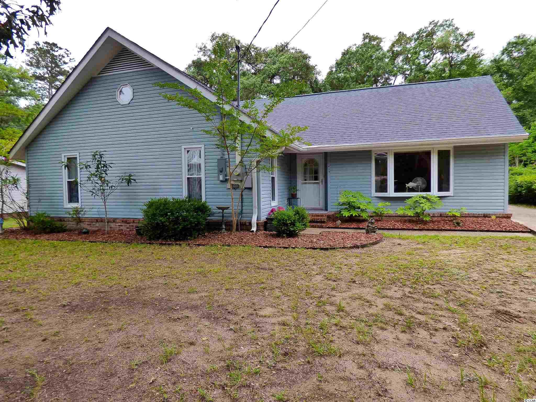 This 4 bedroom 2 bath home is 4 blocks from the ocean and has a salt generator filtration system 12X24 inground pool in the back yard. Bring your boats or rv's as there is NO hoa and plenty of space on this .24 acre lot. There are wood and tile floors throughout. The kitchen have updated granite counter tops with tile backsplash and stainless steel appliances. There is a powered detached shed in the back and the home's attic is floored and shelved for additional storage. The 4th bedroom includes a built in murphy bed and desk. Lastly, the Carolina room is in the rear of the home over looking the pool and back yard.