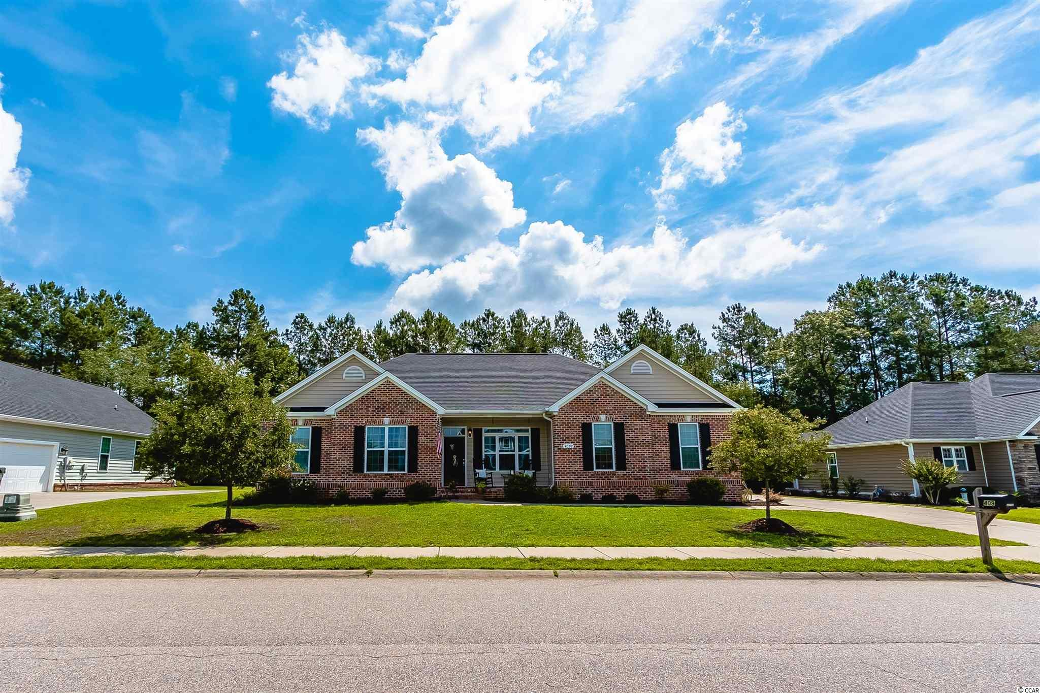 What a find in Conway. This 2015 built home features 4 bedrooms all on the same level.  Sit on your screened in porch with an amazing private backyard. Great master with its own ensuite and walk-in closet.  A bedroom sits privately on one side of the home which would be perfect for that child or perhaps could be used as a mother-in-law suite.  Upgrades throughout this home and is a must see in this neighborhood that is close to the historic city of Conway, 25 minutes to the beaches, an access to highways.  Call for your private showing.