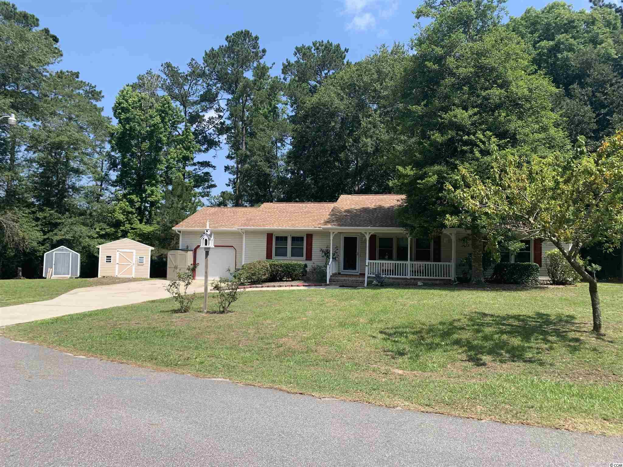 Beautiful home in Linda Lakes Subdivision with no HOA .  Very quite location on .78 ac.  Three bedrooms, two baths, one car garage with two detached storage sheds.  Plenty of parking for family and friends.