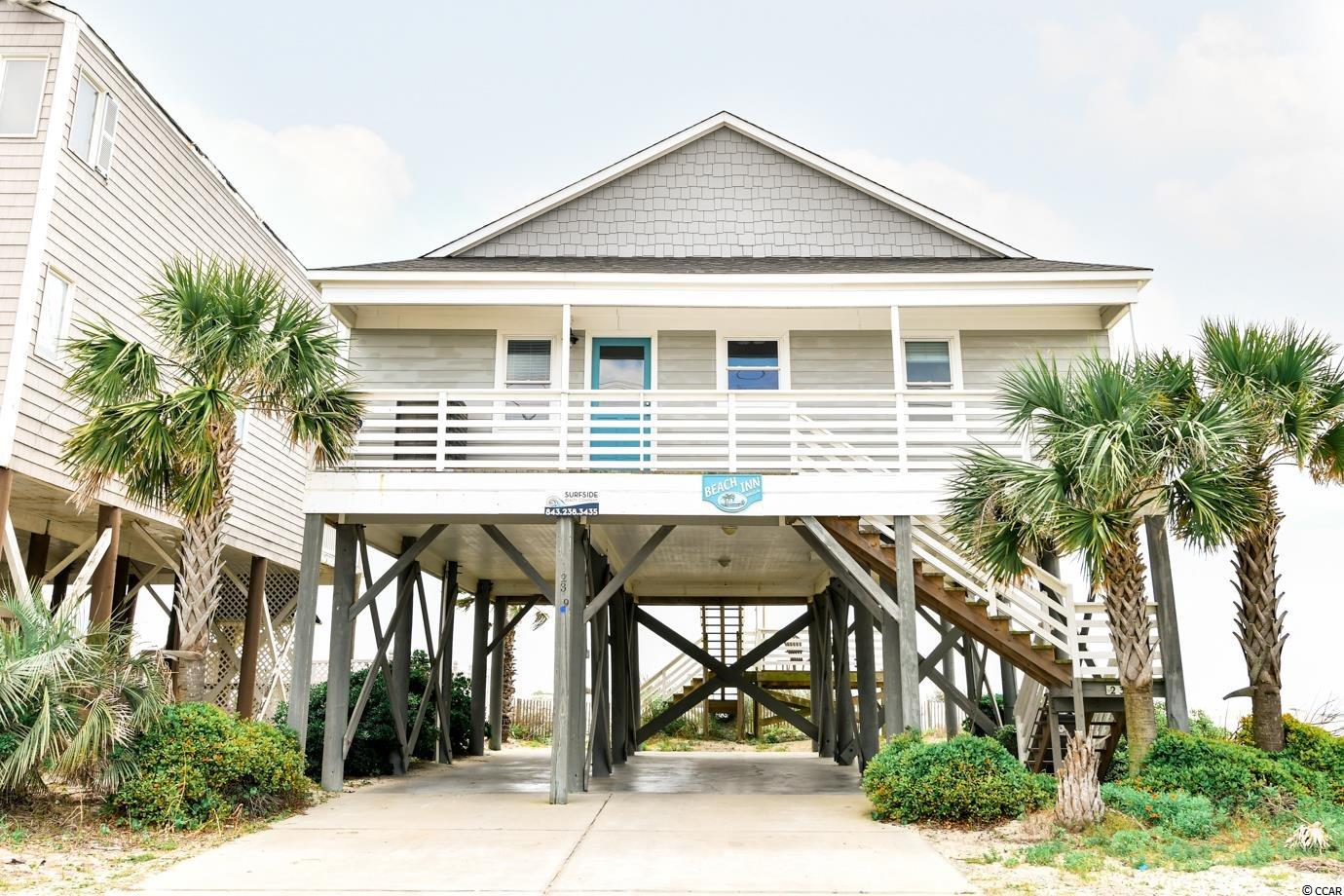 This is a unique 4 bedroom, 4 bathroom, oceanfront house within walking distance from the pier in Garden City. Don't miss this excellent opportunity to own this great rental property or make it a second home.