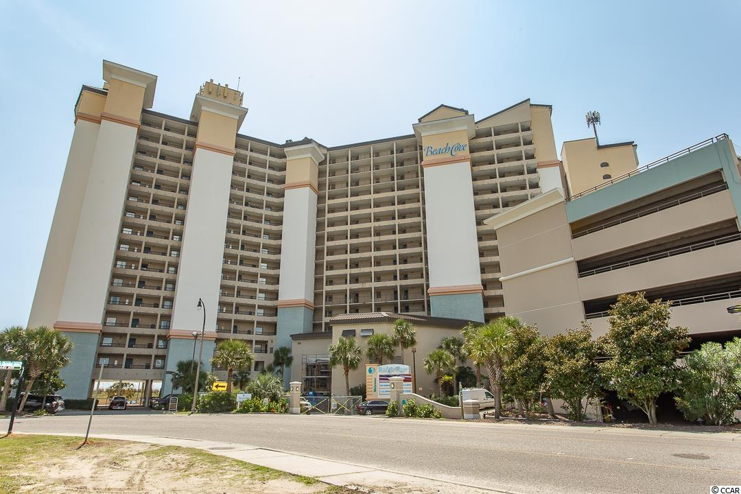 Beautiful 1BR ocean front condo at the luxurious Beach Cove Resort with immaculate views of the Atlantic Ocean. This 8th floor unit has been upgraded with full sized refrigerator, granite counter tops and ceramic tile in all living areas and bathrooms, new carpet in bedroom, and brand new heat pump!. Enjoy views of the pools, amenities, and gorgeous landscaping from your balcony! Beach Cove Resort is located in the highly sought after Windy Hill section of North Myrtle Beach. 48th Avenue South close to the shops at Barefoot Landing, within walking distance to several restaurants and a short drive to many fabulous Grand Strand golf courses. Beach Cove offer amenities for everyone; multiple outdoor pools, indoor pool, hot tubs, heated outdoor pool, racquet ball court, game room, ocean front bar and grill, conference rooms, and much more! Great rental resort. Offered fully furnished. Just bring your toothbrush!  Professional interior photos to come!