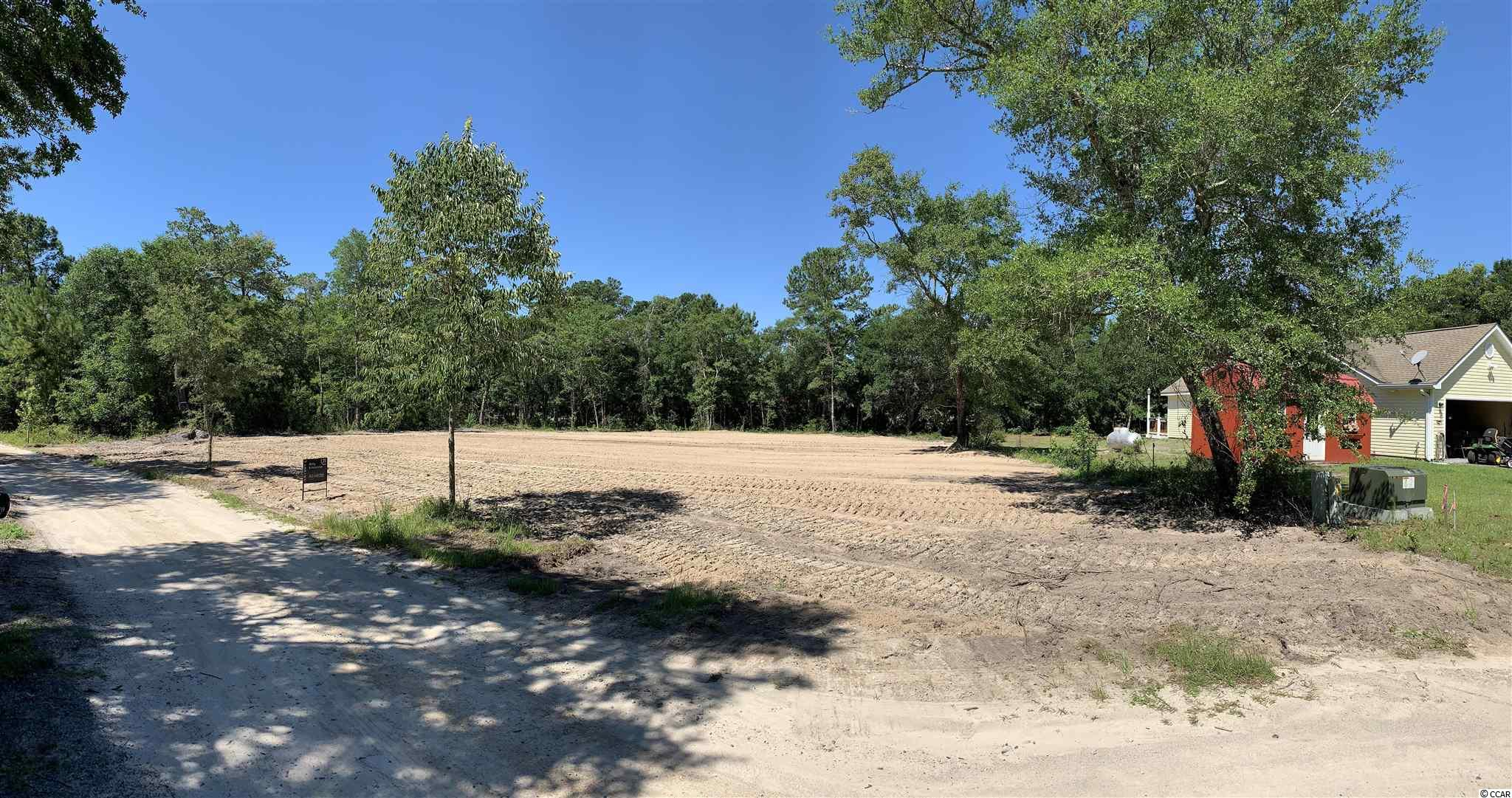 One of a kind opportunity to own perfect cul-de-sac cleared and ready to be build on residential lot in the fishing village of Little River where quiet and peaceful lifestyle awaits! Minutes from the Intercoastal Waterway, Little River Inlet, and everything North Myrtle Beach has to offer. Almost half acre lot creates a large building site for your dream home! Many custom homes are being build in this beautiful quite neighborhood! With no HOA and only a few reasonable restrictions this community offers plenty of freedom to enjoy your new property. This is truly rare opportunity for a perfect location only minutes to Cherry Grove Beach and Atlantic ocean! Enjoy famous Little River Blue Crab Festival, The River Shrimp Festival and plenty of entertainment choices, restaurants, golf courses  and shops!