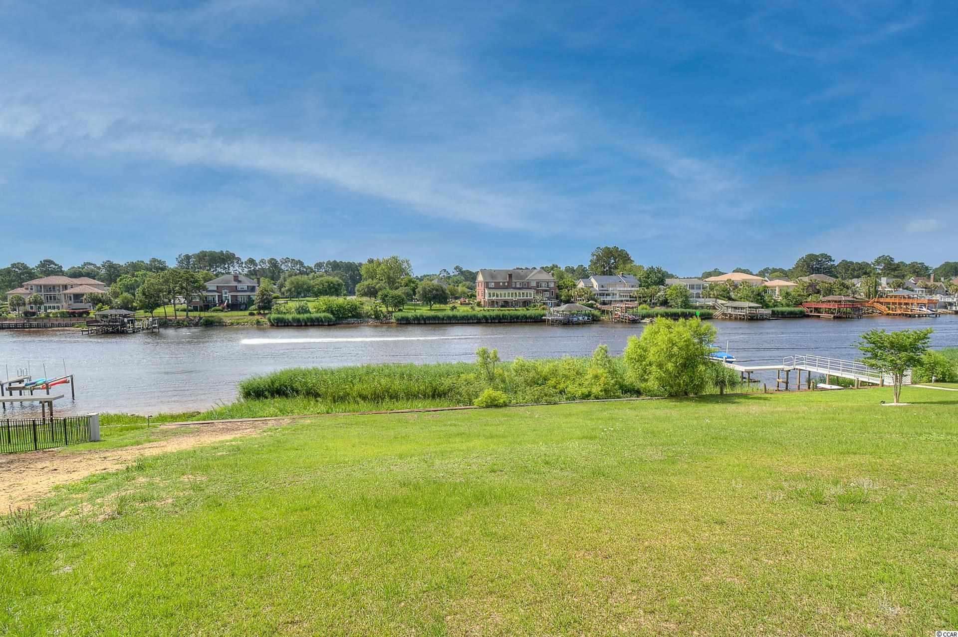 Enjoy gorgeous waterway views on this large, intracoastal waterway lot.  Carolina Waterway Plantation is a private, gated, custom home community that offers a clubhouse, pools, a playground, a gazebo, tennis courts, a boat ramp, storage for RV and boats and more. The Carolina Forest area offers award-winning schools, medical facilities, golf courses, grocery stores, hiking and biking trails, and much more.  Minutes from the ocean, shopping and everything Myrtle Beach has to offer.  Bulkhead is already in place , lot is cleared, is approximately 60 X 200 and is ready for you to build your dream home.  Owner is related to listing agent.
