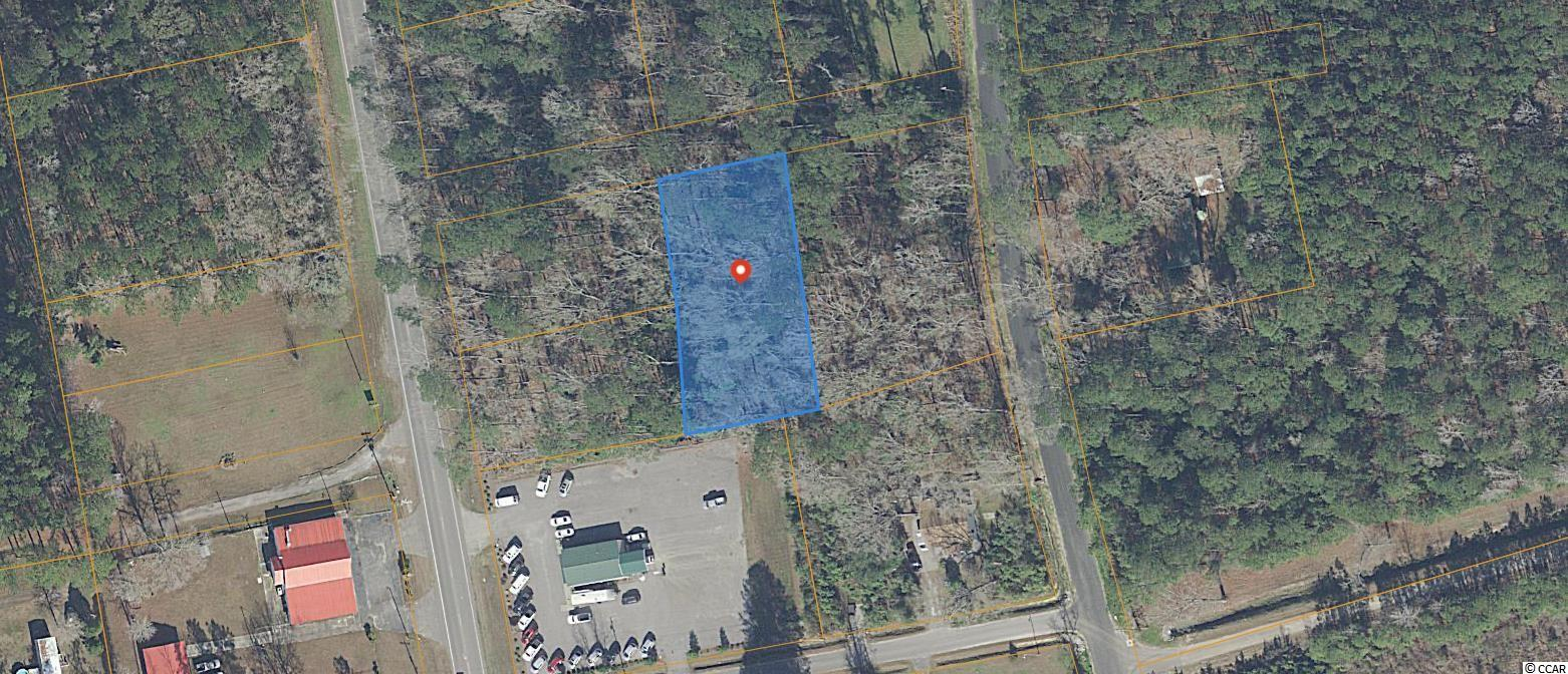Peaceful setting south of Conway for building your dream home, or build four houses, as the property is currently four residential lots. Property has access from both Hwy. 701 and Copperhead Rd. in the rear.  All measurements and features are approximate and not guaranteed. It is the responsibility of the buyer to verify.