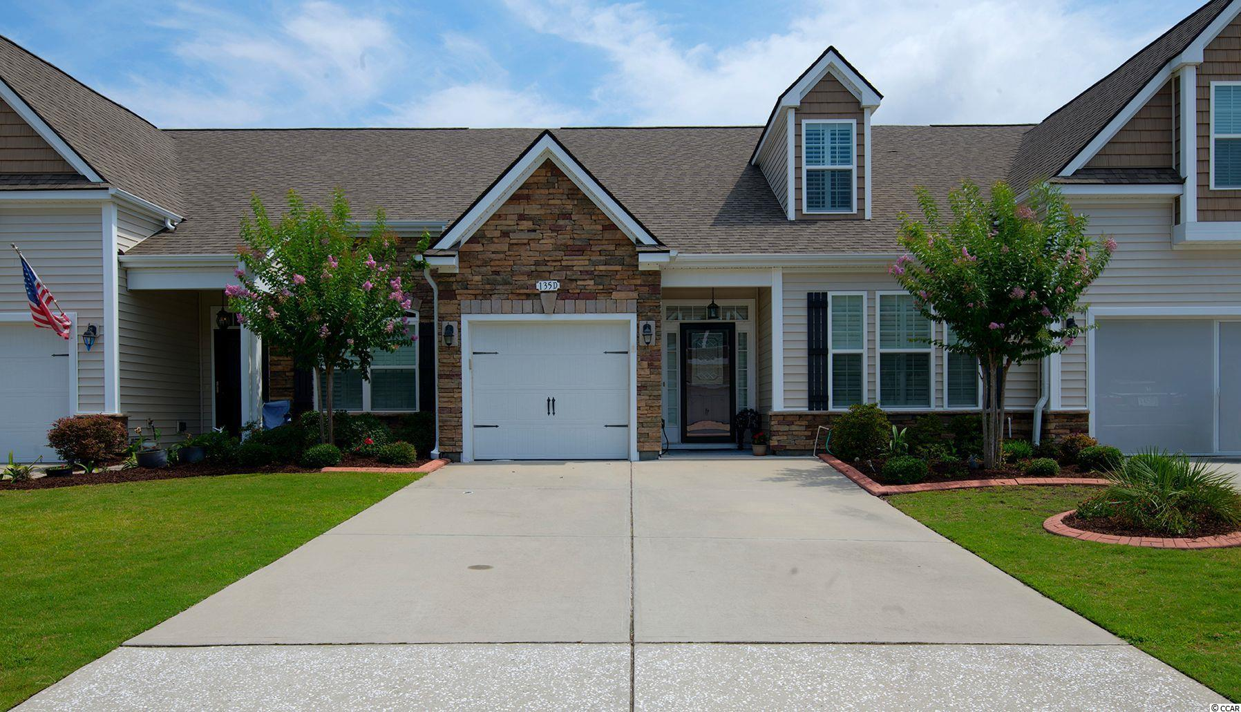 Beautiful townhome located in the desirable community of Parmelee. in Murrells Inlet.  Within 5 minutes to four golf courses, marina on Intracoastal waterway, local seafood restaurants, The Marshwalk and grocery Stores.  A quick drive to either Garden City Beach or Huntington Beach State Park. The WELLINGTON has 4 Bedrooms and 3 full Bathrooms. The spacious Owner's Suite and second bedroom are located on the first floor. The 3rd and 4th bedrooms are located upstairs along with a full Jack and Jill bath! This beautiful townhome has Shaw hardwood flooring, Daltile tile flooring, granite kitchen countertops.  GE stainless steel appliances, a natural gas hot water heater and many more upgrades! Home located on pond view lot .Natural Gas community with low HOA. Pool and clubhouse onsite!