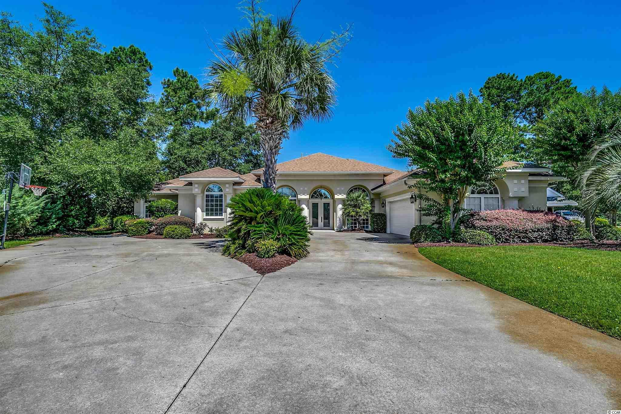 This beautiful Mediterranean home is located in one of Myrtle Beach's most prestigious neighborhood Dunes Cove connecting to the famous Dunes Beach and Golf Course. It has a huge Master suite and bath with custom made closets. It also has a formal dining room and a eat in kitchen with a breakfast bar. A family room off the kitchen with a fireplace. Great location close to the beach, shopping centers, theaters, restaurants, schools, doctors offices, hospitals, golf courses. Great location don't miss out on this one.