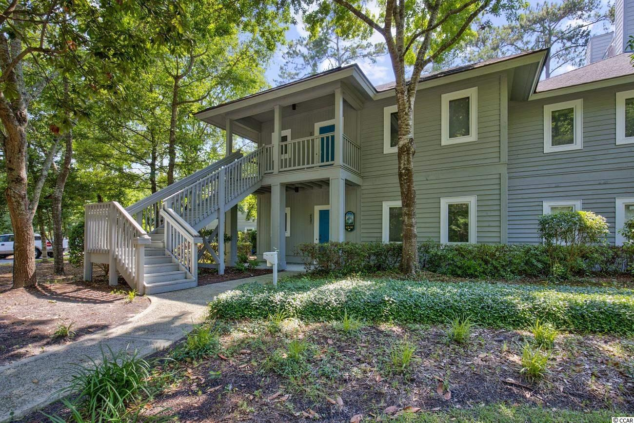 Come see this beautiful 2 BR/2 BA condo located in Tidewater Plantation. This ground-floor end unit is furnished and ready to live in. Enjoy the natural light coming in through plantation shutters, relax on the back porch with a view of the lake, or explore the vast amenities like 2 community pools, tennis courts, fitness center, golf course and clubhouse, private beach front cabana equipped with restrooms, kitchen, and sundeck, plus more! Tidewater Plantation has gated security 24 hours a day. Enjoy life in this premier golf course community with easy access to all the Grand Strand has to offer.