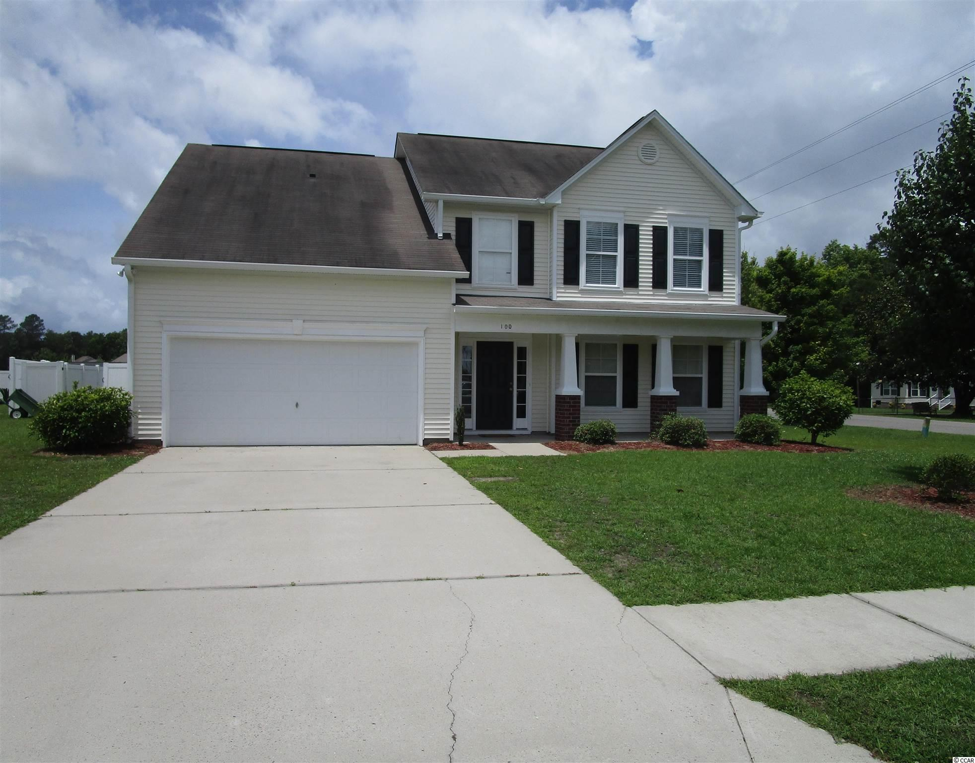 Just listed, move in ready, low HOA, with over 2400 heated sqft, 2 car garage, 5 bedroom, 2.5 bath, sitting on a .27 acre corner lot, enjoy sitting out on your back patio with a 6 foot privacy fence, large enough for all your backyard activities, room for a swimming pool, 10 x 12 detached storage building, if you are looking for a house for a growing family, enough space for visiting relatives, or a house for extra space for home office, craft room, exercise room, etc. don't miss this chance, Chandlers Run is located about 15-20 minutes from all of the Beach activities, easy access to Hwy 22, 9 miles to downtown Conway. All measurements are approximate and to be verified by buyer.