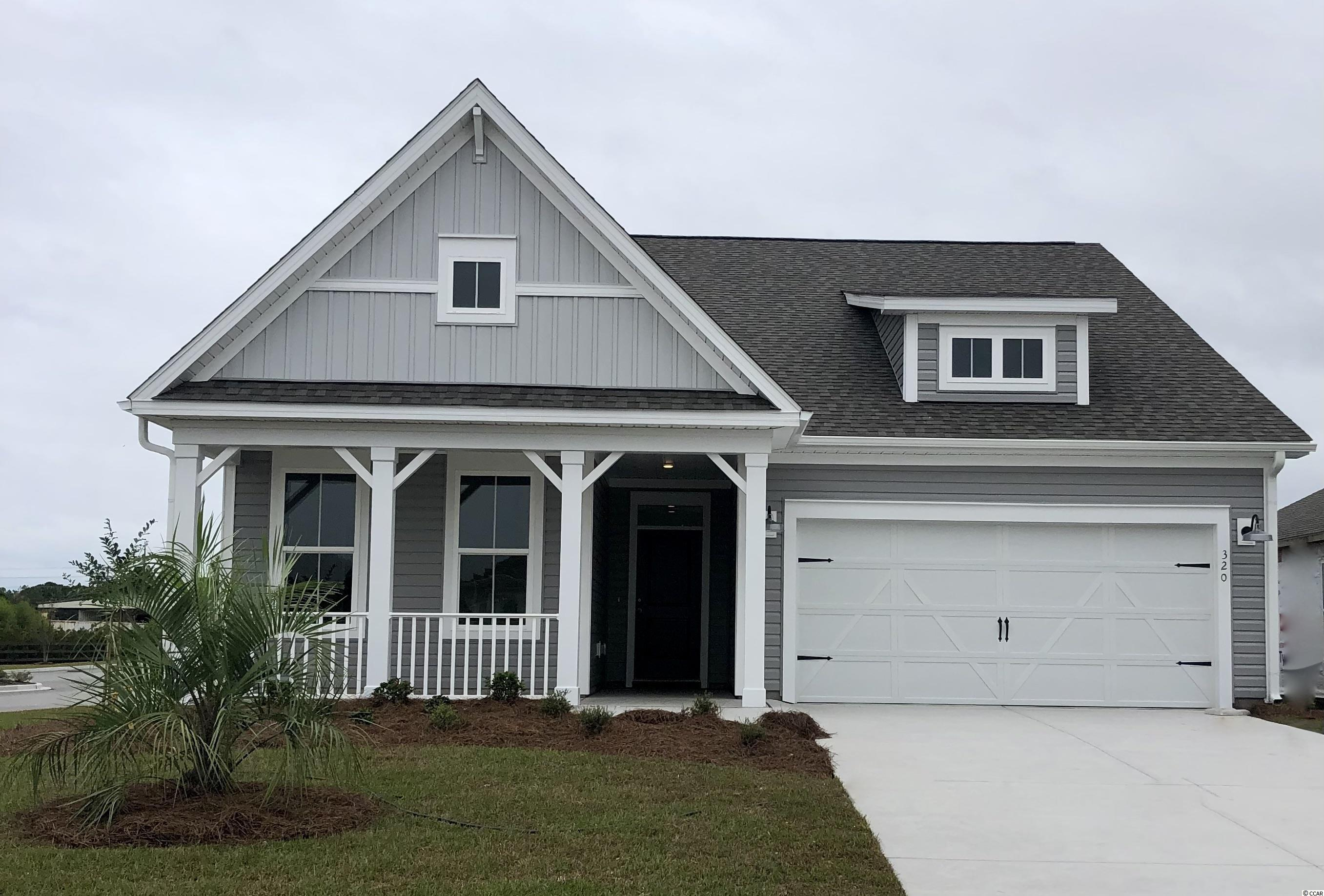 This 2-story home is the Live Oak floor plan that features 4 bedrooms, 3 full bathrooms and a dedicated loft (perfect for a home office, hobby room, or play room) carolina room, full front porch, and 2-car garage space. The primary bedroom suite, 2 guest bedrooms, carolina room,  great room are downstairs. The upper level features a large loft, full bathroom, and guest bedroom. This home includes stainless Whirlpool dishwasher, microwave, gas range, and refrigerator and washer & dryer! Loaded with luxury design finishes and details, with tray ceiling in foyer and primary bedroom. The primary bathroom includes a double vanity, shower and spacious walk-in closet. All homes at Sunset Landing are ENERGY-STAR® certified and have tankless water heaters by Rinnai. To achieve this prestigious certification, each home has a vigorous third-party inspection to confirm the home has met the strict requirements outlined by the Environmental Protection Agency (EPA). As a result, your utility bills and overall cost of living will be much lower!