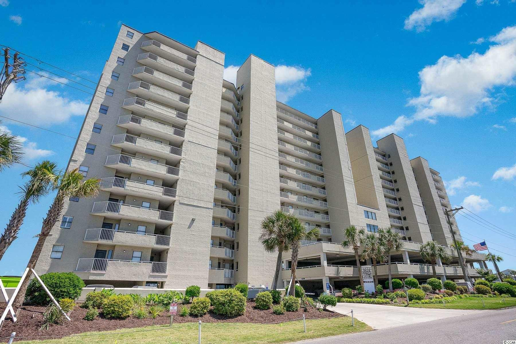 Located in One Ocean Place, a premier oceanfront building in Garden City Beach, this gorgeous 3 bed 3 bath condo comes fully furnished and is beautifully decorated! The unit offers an open floor plan and a large living room for your whole family to enjoy during vacation or as a primary residence.  The kitchen offers SS appliances, granite countertops and tiled backsplash, beautiful cabinets & a breakfast bar that provides extra seating.  The Master Suite offers it's own access to the the huge, wrap around, open space balcony - 1 of only 2 units in the North Tower & only 4 in the Resort, a walk-in closet, garden tub and a separate shower.  The additional bedrooms are generous in size with ample closet space and have their own bathrooms.  Amenities include 2 exterior oceanfront pools, 2 exterior hot tubs, sun deck, owner's lounge and owner's gym. Conveniently located to all of Murrells Inlet's best dining & entertainment, the MarshWalk, shopping and much more.  Hurry and schedule your showing today!