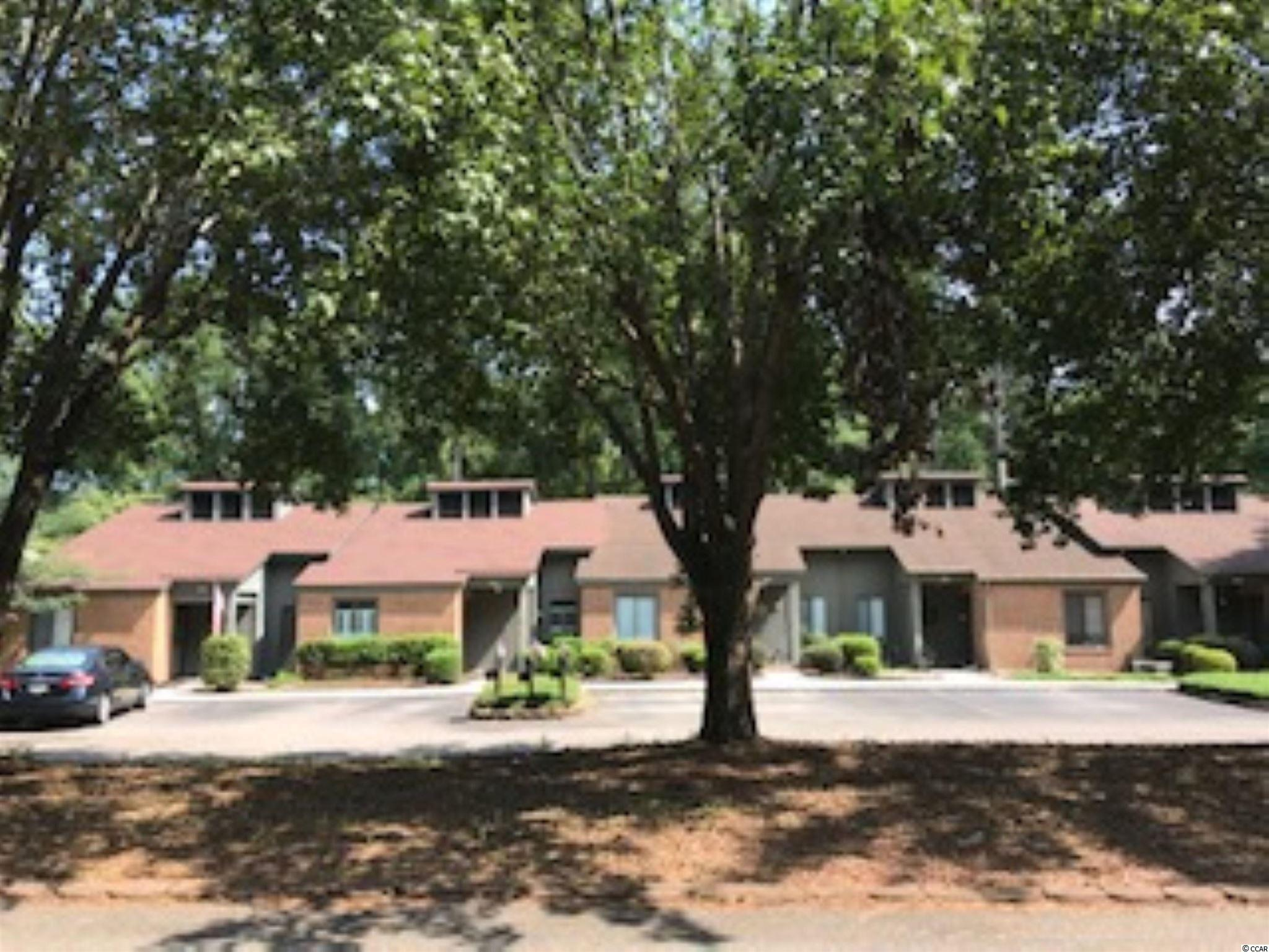 """Cricket Ct 2BR/1BA Townhome in Myrtle Trace.  55+ Community.  This townhouse is being sold """"AS IS"""".  Ideal for a Single Person, good floor plan, Improvements in progress.  Rear of property has views of a community """"Lake"""".  There are covenants & restrictions, www.myrtletracesc.org.  Quiet Cul de Sac location.  2 Parking spaces in front of townhome.  Walk to clubhouse and pool.  Pet allowed.  Very active community.  A Community of senior neighbors."""