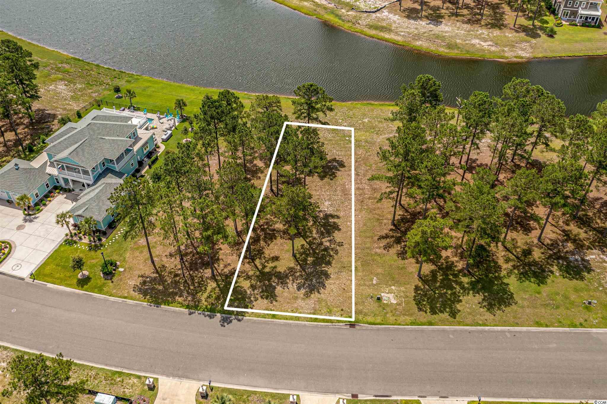Fantastic Lake Front lot in the prestigious gated community of Waterbridge. Enjoy pristine views of Palmetto lake, over 60 acres perfect for kayaking or canoeing. Waterbridge is home to the largest residential swimming pool in South Carolina with Olympic-size swimming lanes, a jetted spa, and zero entry section. Homeowners share a resort-style clubhouse, 24-hour fitness center, and courts for tennis, basketball, sand volleyball, and bocce. Purchase now and build your Coastal Dream Home with no time restrictions. All of this is minutes from award winning schools, the beach, shopping, golf, and dining.