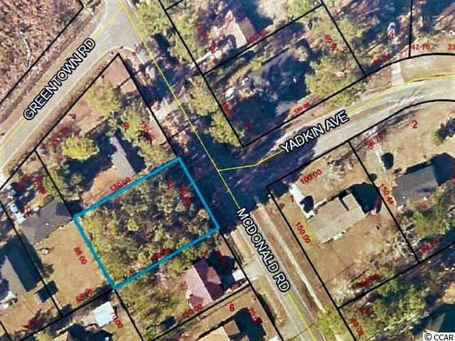 Nice wooded lot not far from McDonald Elementary School.  This nice site is just waiting for you to build your new home! **Zoned for houses only; mobile homes are NOT permitted.**