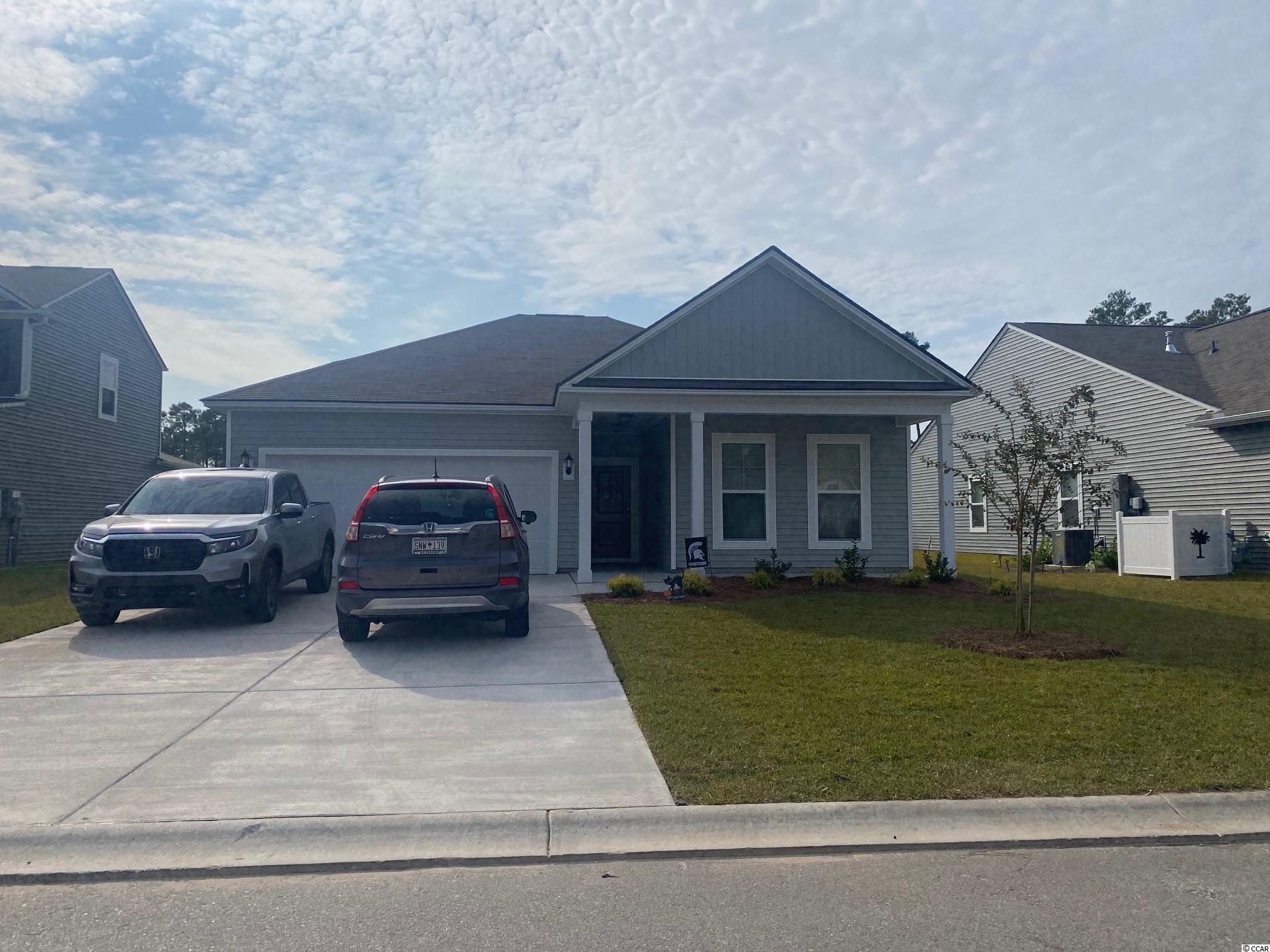 Very popular 3 bedroom 2 bath floor plan in Heritage preserve.  Screened in porch.  Hardwood throughout main living area.  Granite countertops and gas stainless steel appliances.