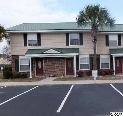 Tile Kitchen Floors Tile Bath Floors Granite Kitchen and breakfast bar top Ceiling Fans in every room Half Bath on 1st Floor Plenty of Closet Space Stainless Refrigerator/Stove/Microwave Dishwasher  Great Coastal Carolina University, CCU Rental Currently leased until 2/15/2022  This property is also being sold with 3 other units if desired. Another 2 bedroom and 2 one bedroom units in the Sinclair.   Walking Distance to Shopping & Dining, and only a 10 to 15 minute drive to beaches.  Students could bike to CCU