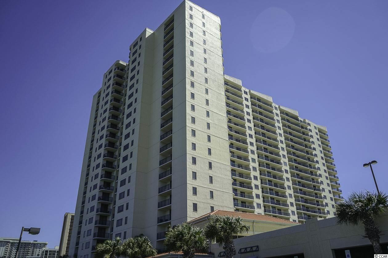 Fabulous floorplan!  This 21 story luxury high-rise offers gorgeous views down the coast of the Atlantic Ocean.  This three bedroom, three bath residence has a view from every room, 3 balconies, large open floor plan with over 2,100 heated sq. ft.  Large master bedroom with walk-in closet, whirlpool tub, separate shower, 3 story parking deck.  Inside the Kingston resort, the finest destination resort in Myrtle Beach.  Spa and Fitness Center, oceanfront hotel, tiki bar, restaurants, water park, lazy river, 1/2 mile of sandy beaches, gated community, 24 hour security, close to shopping and all of what Myrtle Beach has to offer!  Great primary, second home or rental option.