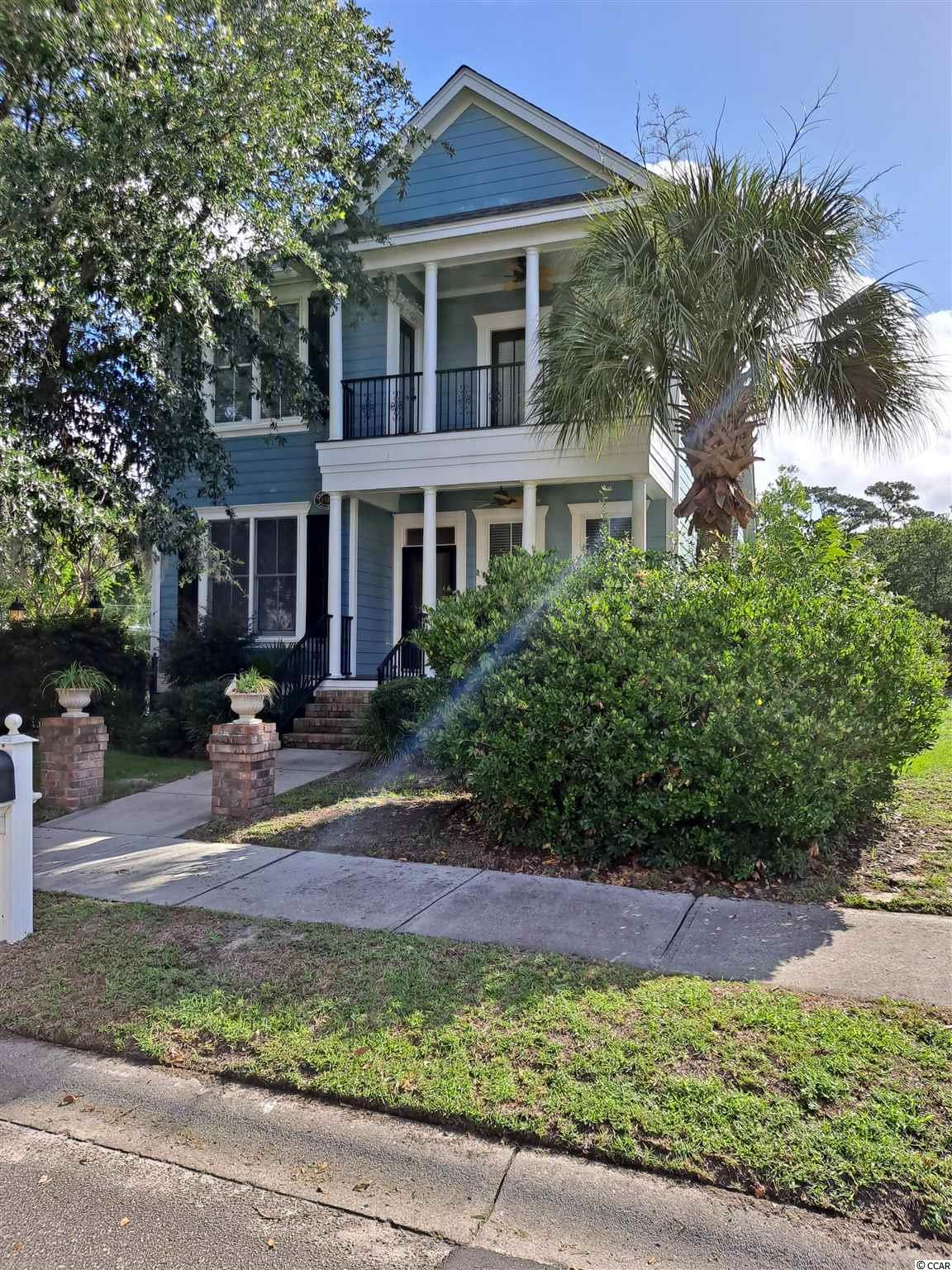 Don't miss out on this stunning and immaculate Charleston / Low Country style home located in the marsh front community of Charleston Landing in Cherry Grove. Owners have used the home as a second vacation home and it has never been rented. Every thing in the home has been renovated and/or replaced within this past year. Hard wood floors throughout living, dining and great room on the first floor. New carpet in the 2 upstairs bedrooms that open up to the upstairs porch. This home comes completely furnished with an upscale furniture package. Great room is enormous with a 20 ft. ceiling and built-in wet bar. It also features a remote security system with state of the art cameras and electronics. Enjoy sitting on your front porch or your 2nd floor porch while sipping your morning coffee. Your gated private courtyard is perfect for entertaining. The pool and clubhouse have spectacular views of the Cherry Grove marsh and you are only minutes from the beach. This is an ideal home for the family that has discerning taste. Needless to say, this won't stay on the market long.