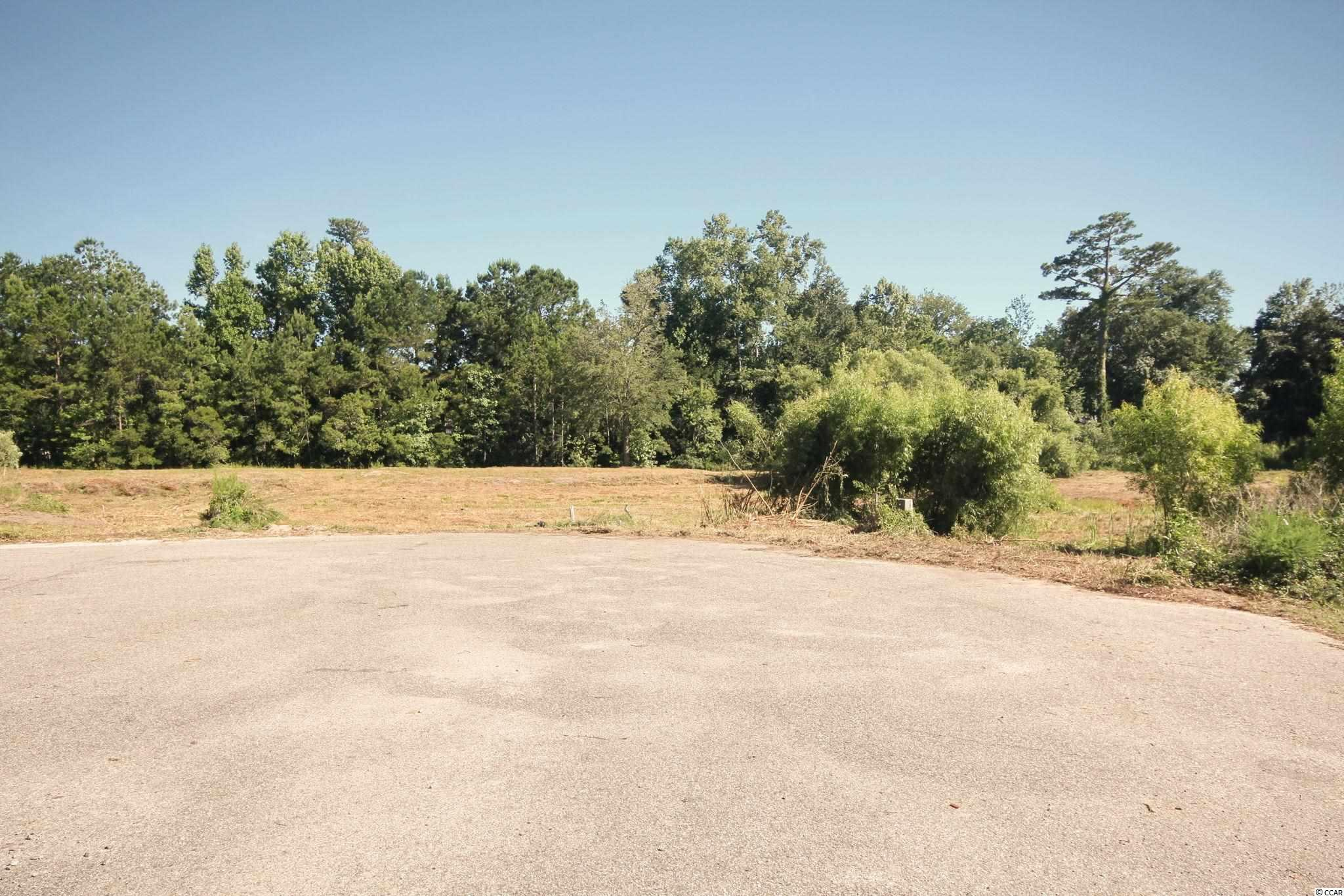 Rare!!  The location just does not get any better!  Located in the heart of scenic Little River, within walking distance or a short golf cart ride to the Intracoastal Waterway and to the restaurants along the historic Little River Waterfront.  Multiple marinas located nearby for the boating and fishing enthusiast.  Two lots, measuring approximately 3/4 acre,  available east of Hwy 17.  Purchase one or both!  Cleared lots at the end of a cul-de-sac in a private wooded setting.   NO HOA and impact fees have been paid!  No time frame to build.  Buyer is responsible for paying tap fees and for verifying all information and measurements.