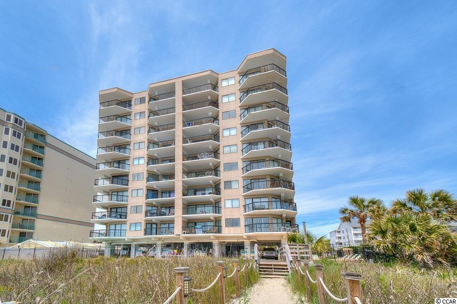 Turnkey, top floor end unit offering breathtaking views in Crescent Towers II in the popular Crescent Beach section of North Myrtle. This 9th floor Penthouse comes equipped with granite countertops in the kitchen, ceramic tile in the main living space and wet areas and its own washer & dryer. This end unit offers an abundance of natural light, and there is a king sized bed in the owner's suite, two twin beds in second bedroom and a queen pull-out sleeper sofa in the living room. Crescent Towers II is a concrete & steel building with elevators, an oceanfront pool, sun deck, grilling area and more. Call your agent and schedule a showing today!