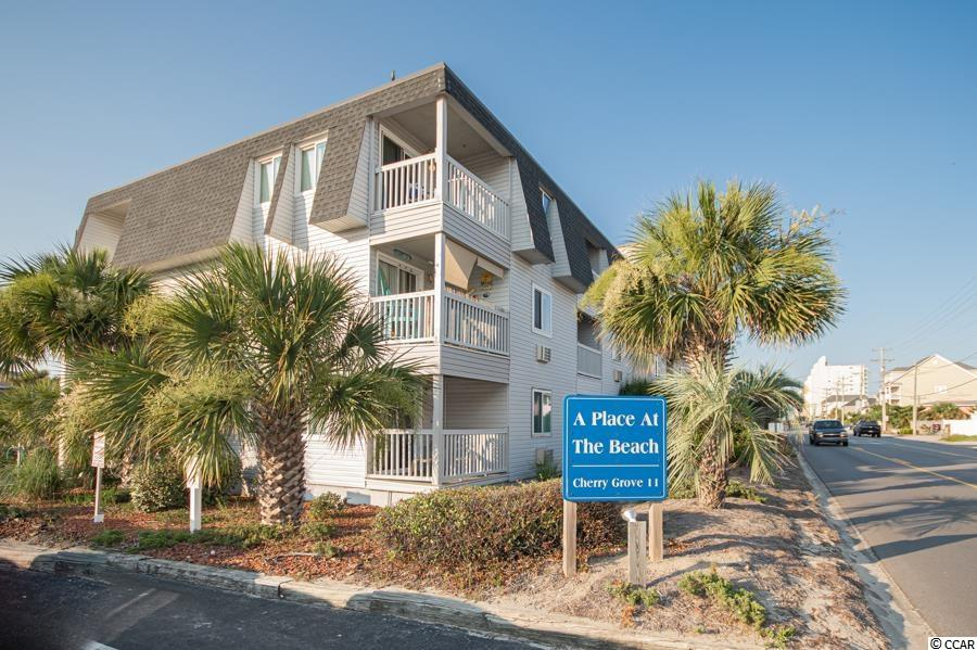 Come see this beautiful 2BR/2BA fully furnished condo on the first floor! 2nd row unit across from the Ocean! Both bathrooms have been recently updated. The balcony has a wonderful view of the canal in Cherry Grove. The unit has been recently painted, new HVAC units, and new vinyl flooring. The laundry room is convenient from the unit. A Place at the Beach II offers a nice large pool on Ocean Blvd.