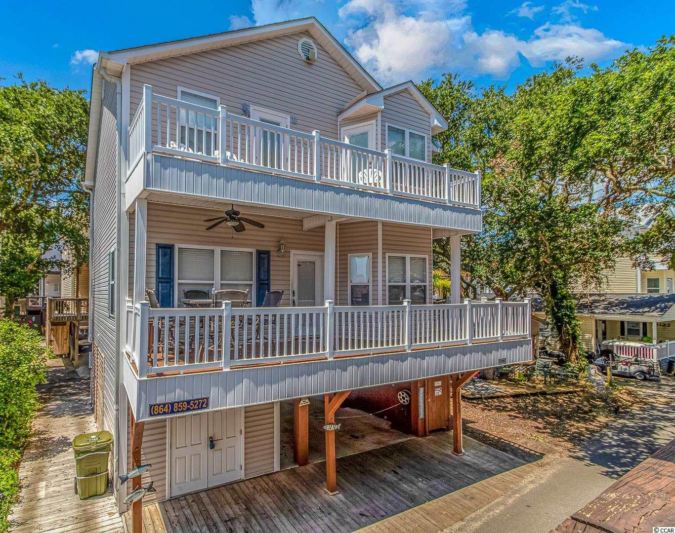 Schedule your showing for this Beautiful 5 bedroom and 3 bath home. Enjoy the double decks. Ocean Lakes has almost one mile of beach front positioned on 310 acres. They have 24 hour security and many amenities such as indoor and outdoor pools, water park and splash zone for children, lazy river and slides, basketball courts, volleyball and much more. All measurements and square footage are approximate and not guaranteed. Buyer is responsible for verification.