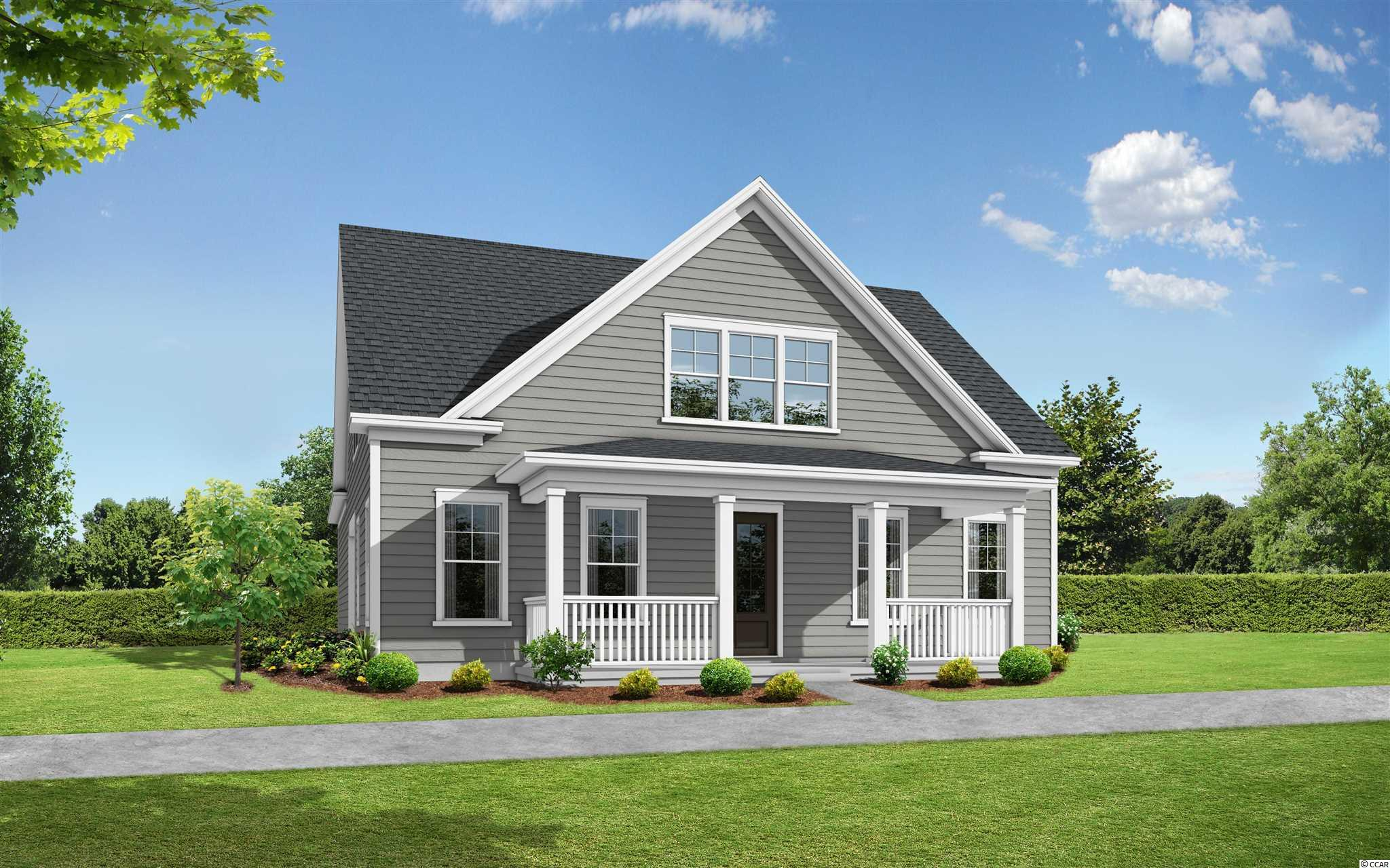 Under construction and will be ready Winter 2021! A touch of style and design, this beautiful home offers an inviting covered front porch that overlooks the greenway park. This Cassandra A Plan boasts a well-designed kitchen which opens into a bright casual dining area. Kitchen is equipped with a large center island, plenty of counter and cabinet space, and ideal for entertaining. The primary bedroom suite is highlighted by 2 large walk-in closets, and spa-like bath with cave shower, and private water closet. The second floor is highlighted by a versatile loft, secluded secondary bedrooms with a shared hall bath, and a guest suite that can double as a second primary suite. Additional highlights include a side covered porch for outdoor living and entertaining, a convenient drop zone, centrally located laundry, additional storage, great room fireplace, and engineered hardwood flooring throughout the first floor.