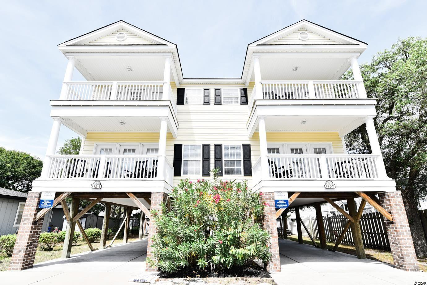 This 5 bedroom/ 4.5 bath features an elevator and private pool! A very short walk to the ocean, it is considered 3rd row as it's the first house on 10th Ave. This beach house comes fully furnished and is perfect for an investment, 2nd home, or a primary residence. It is turn key!!  Schedule your showing, it won't last long!