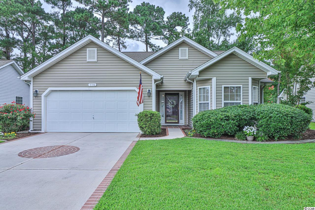 Don't miss out on this incredible opportunity! This stunning FURNISHED 3 bedroom, 2 full bathroom family home located in the wonderful golf course community, Arrowhead, features a spacious, bright, and open floor plan! The vaulted living room features a cozy fireplace and gleaming floors! The country kitchen features lovely wood cabinetry, custom tile backsplash, granite counter tops, a breakfast bar, and a pantry plus a spacious dining area! The elegant master suite boasts a large walk-in closet, a comfortable sitting area, and an impressive master bathroom! This amazing home also features a beautiful Carolina room with lots of natural light and access to the custom patio perfectly set for grilling out and entertaining OVERLOOKING THE GOLF COURSE! Being in the spectacular Arrowhead neighborhood, you have access to a large community pool, tennis courts, a play ground, and so much more! Book your showing today!