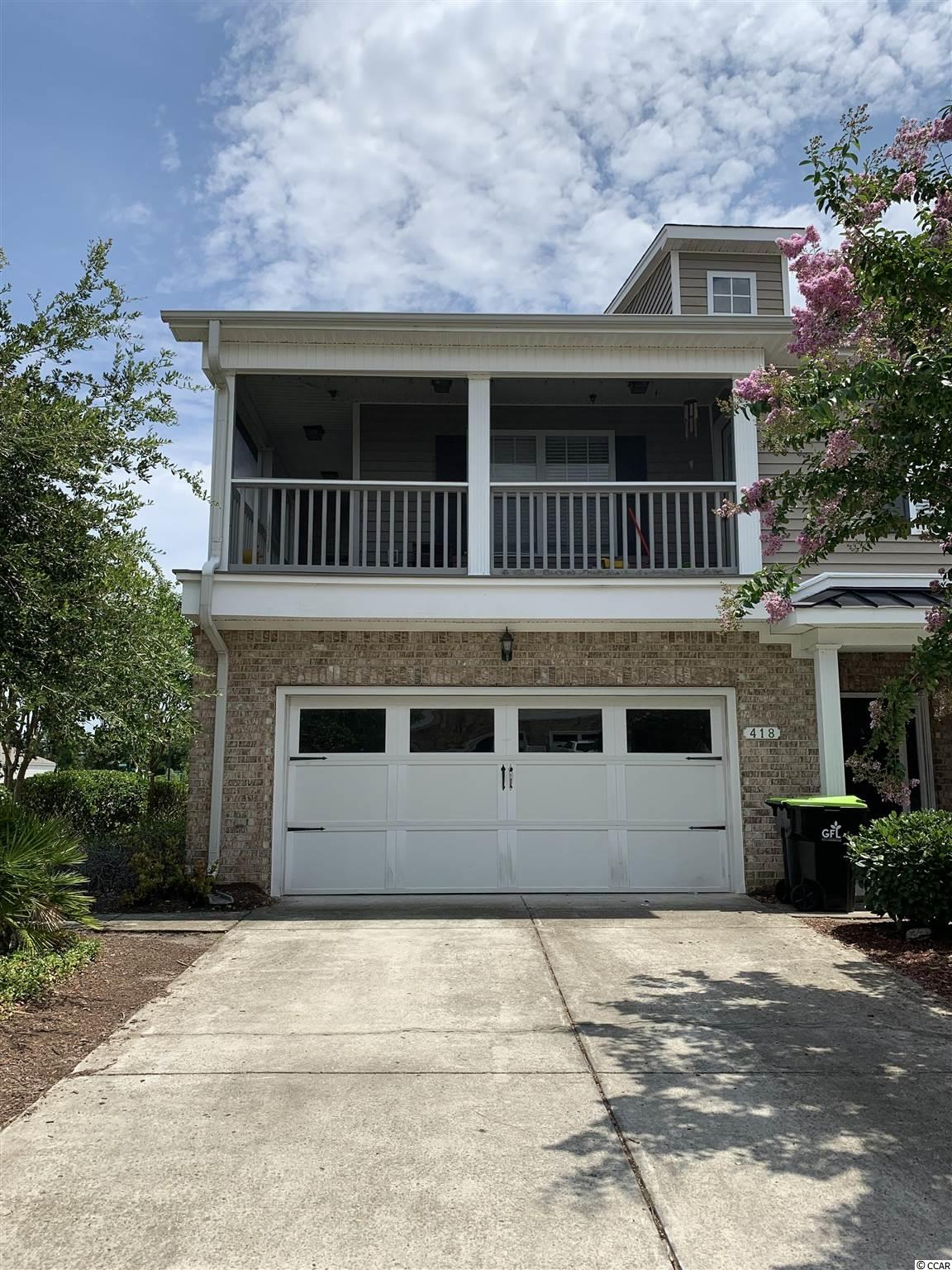 Don't miss your opportunity to grab this townhouse, it will not be available very long.  This 3 bedroom, 2.5 bath home, 2 car garage offers high ceilings spacious downstairs living area that also has a formal dining room. This home is conveniently located near Highway 31 and Highway 501 that can quickly get you to the all locations North and South that The Grand Strand has to offer.  Hot water heater replaced July 20201.